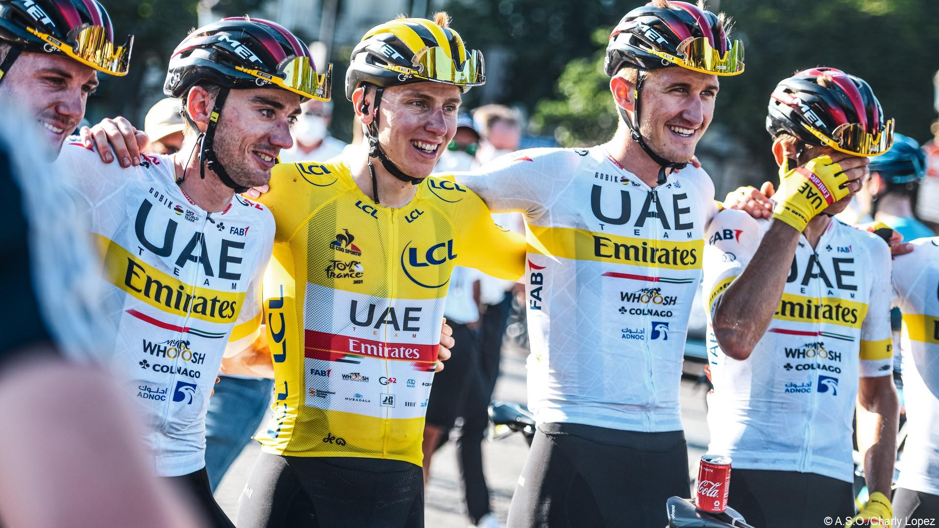 Tadej Pogacar Tour de France 2021 (c) ASO Charly Lopez