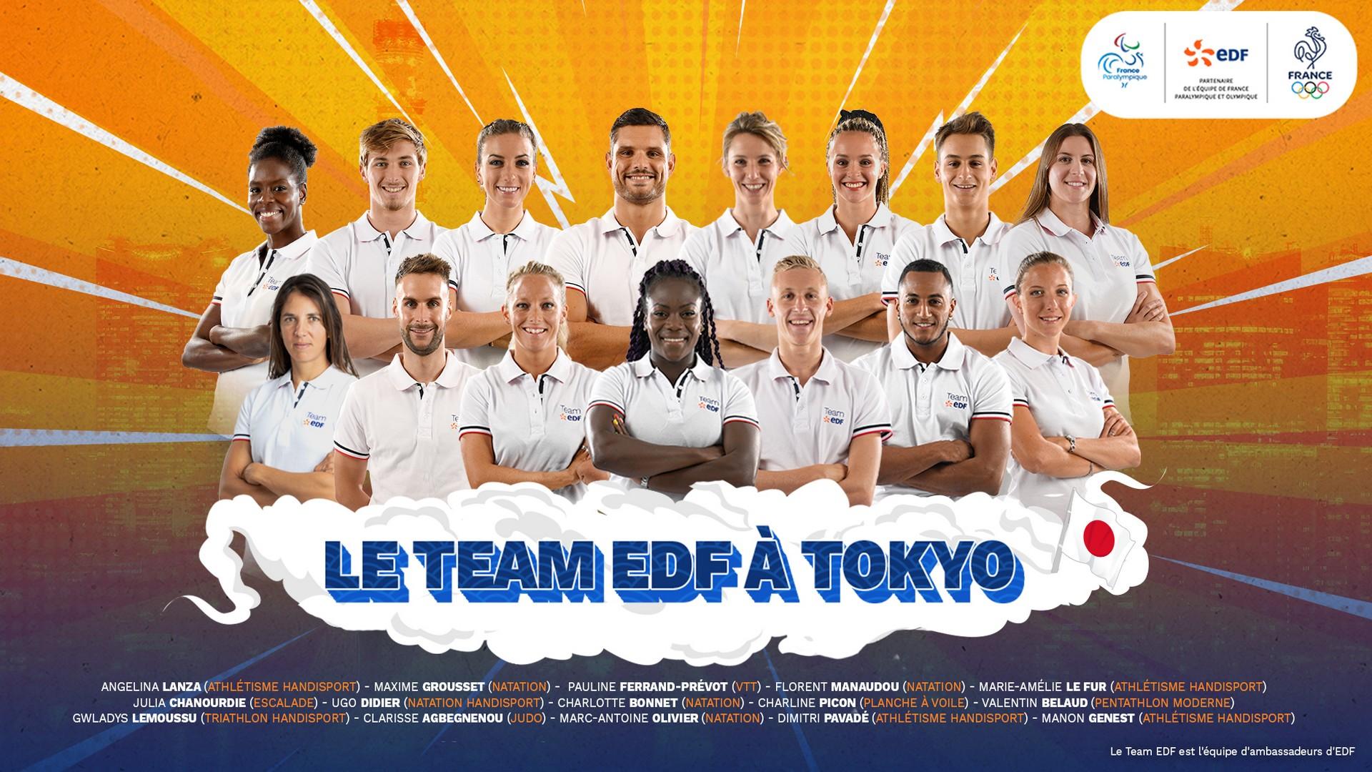 Team EDF Tokyo 2020
