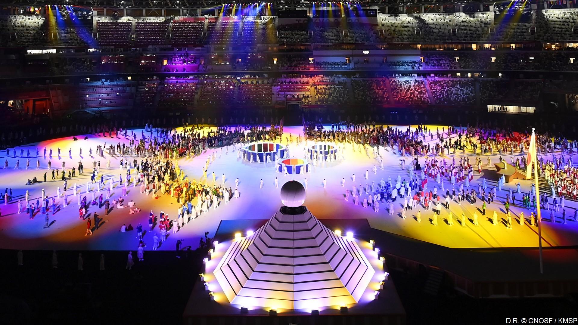 Tokyo 2020 – Cérémonie d'ouverture (1) (c) CNOSF
