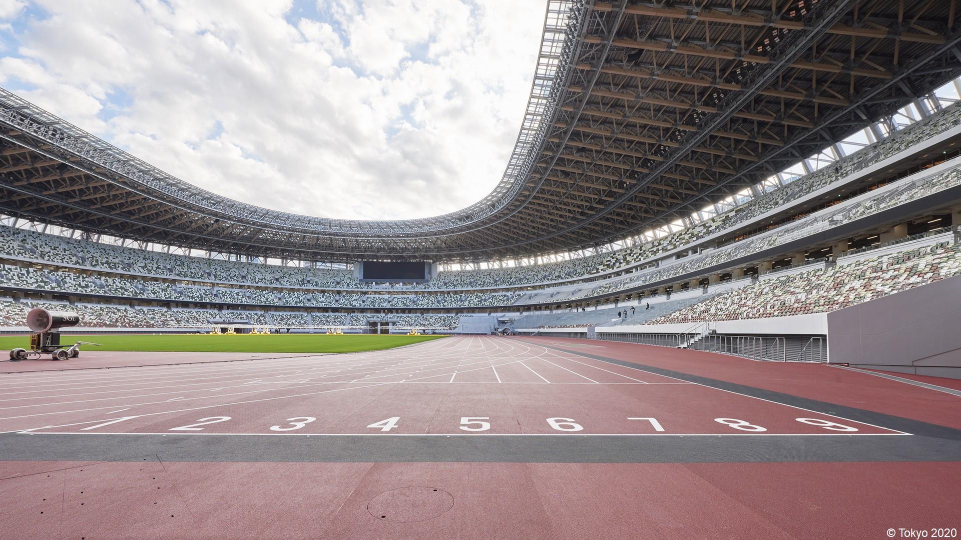 Tokyo 2020 – Stade olympique vide