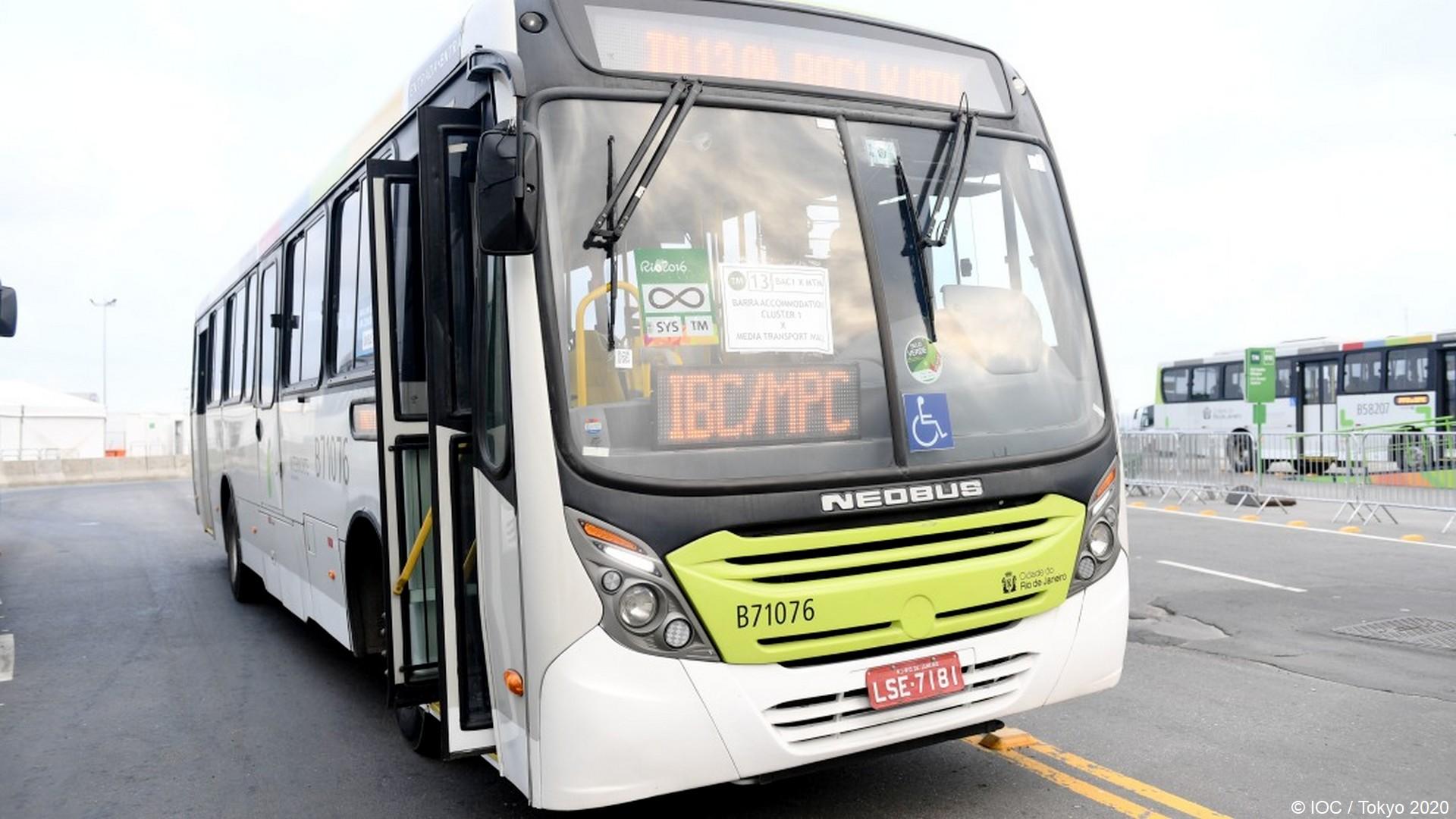 Tokyo 2020 – Transport bus