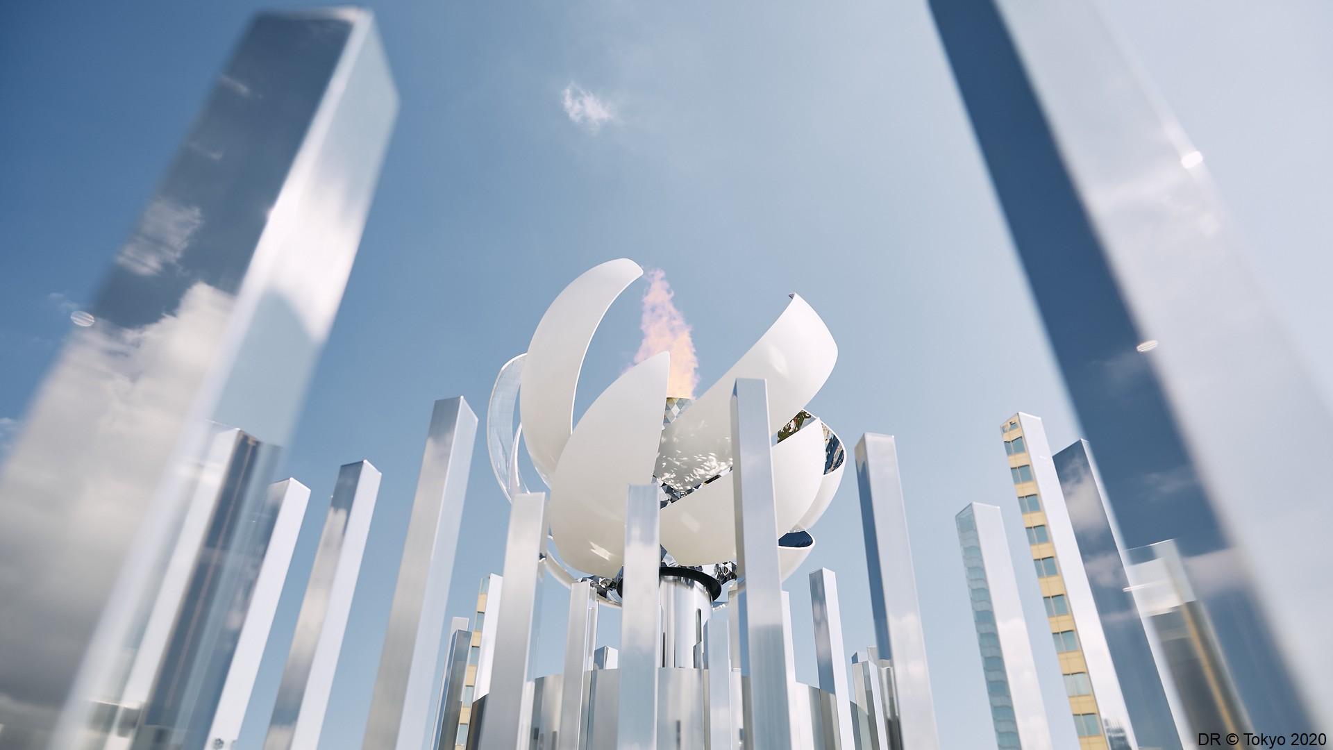 Tokyo 2020 – Vasque olympique (1) (c) Tokyo 2020