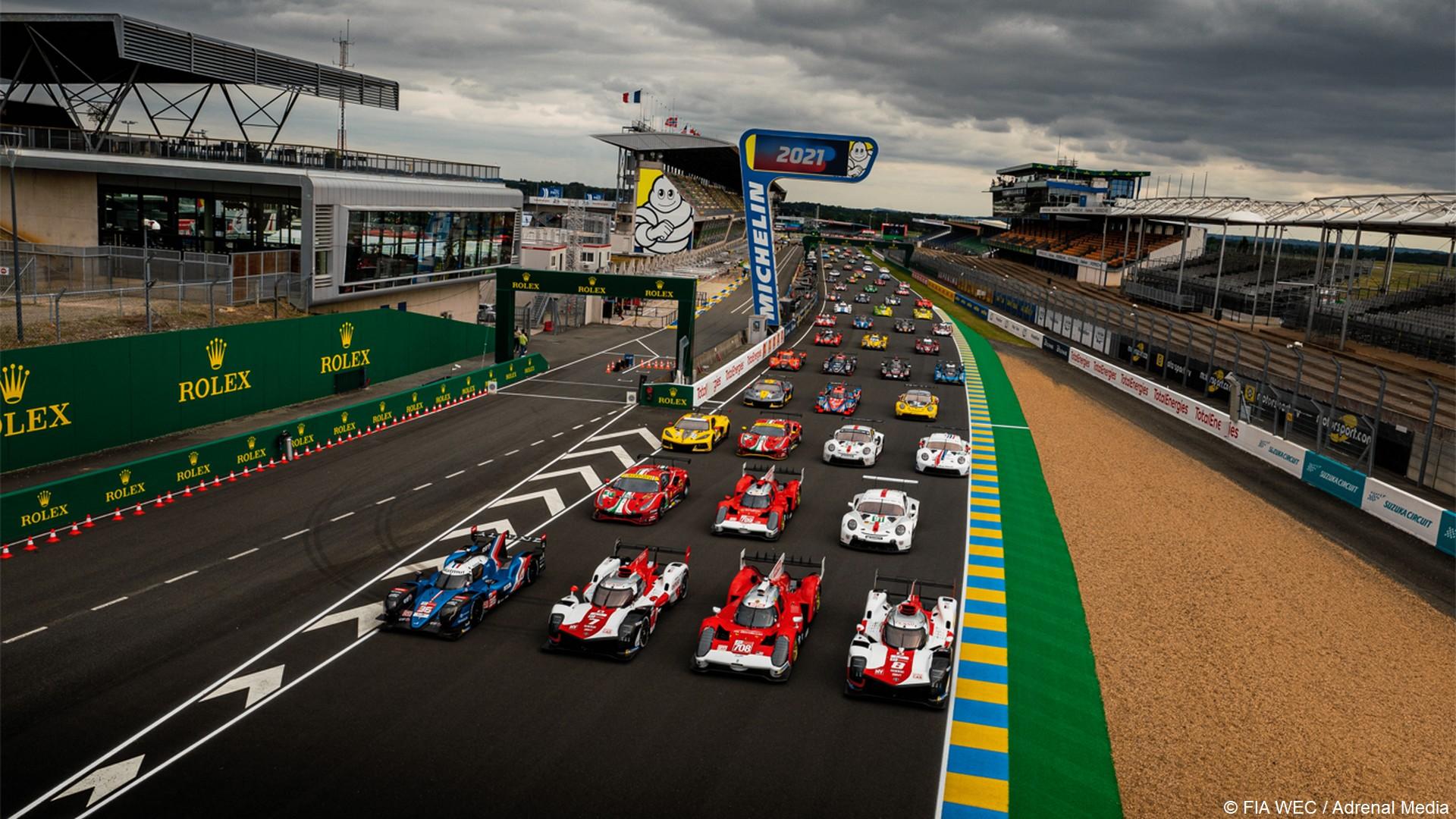 24 Heures du Mans (2) Photo officielle 2021