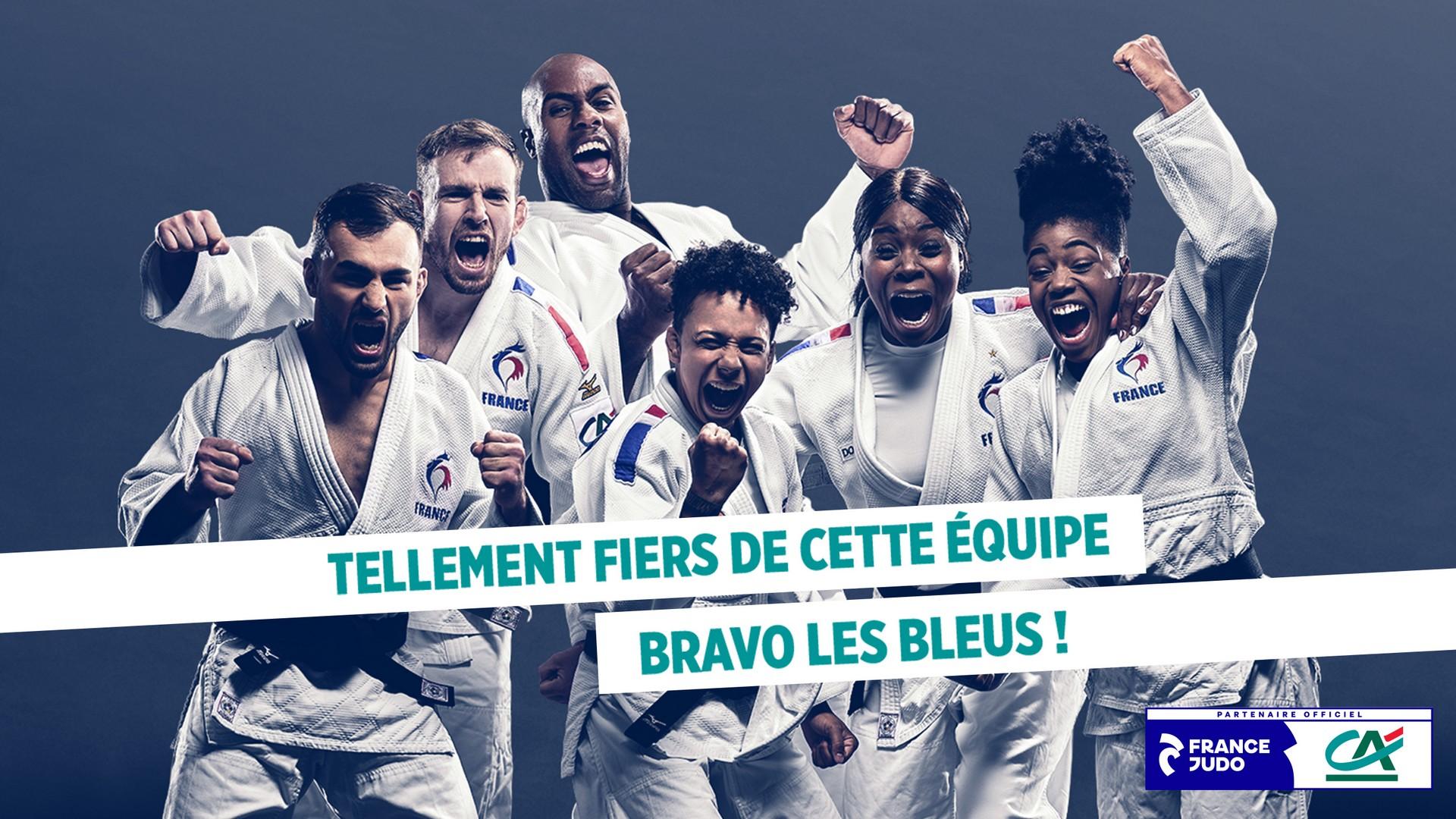 Crédit Agricole x Equipe de France olympique (judo) Lafourmi 2021