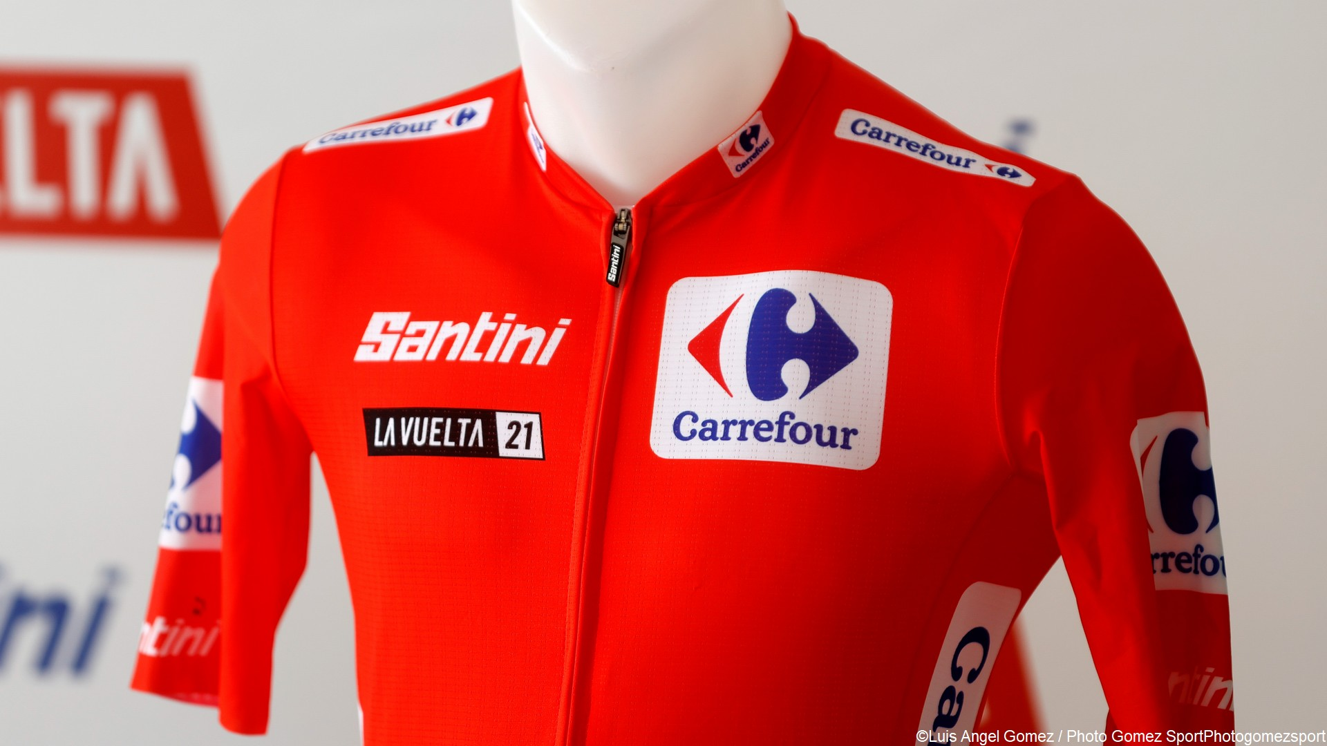 Cyclisme – Vuelta 2021 – Maillot rouge Carrefour (2)