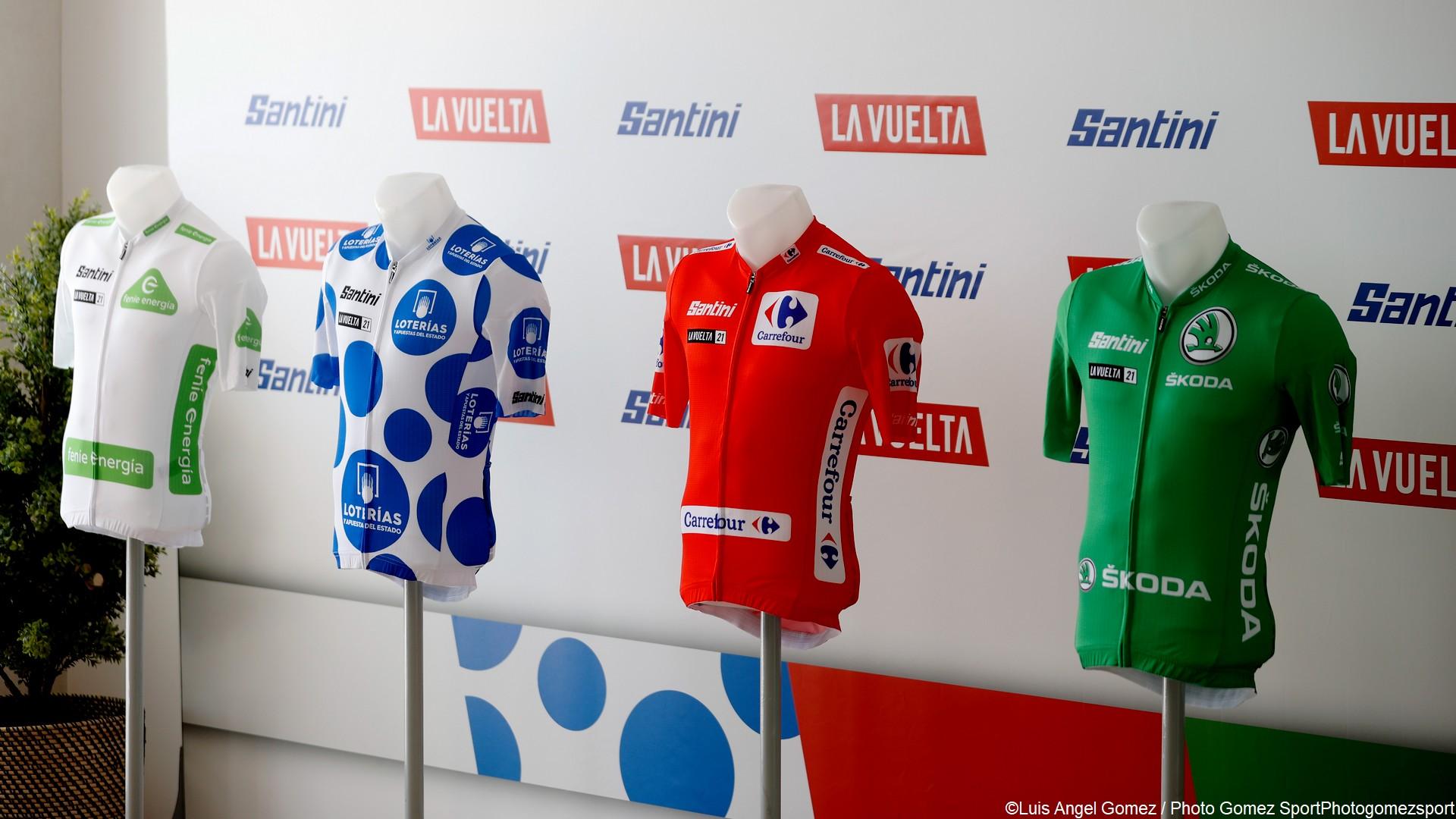 Cyclisme – Vuelta 2021 – Maillots (1)