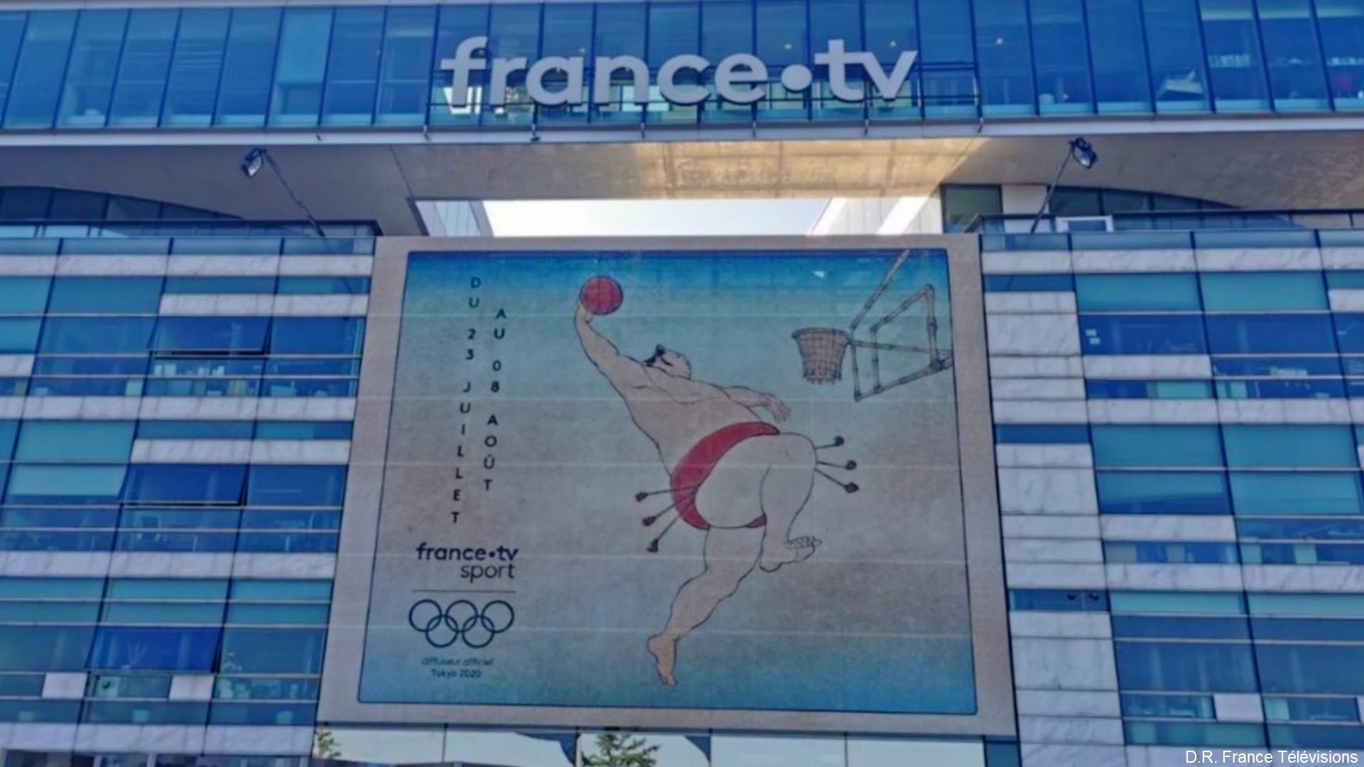 France Télévisions – Batiment Tokyo 2020