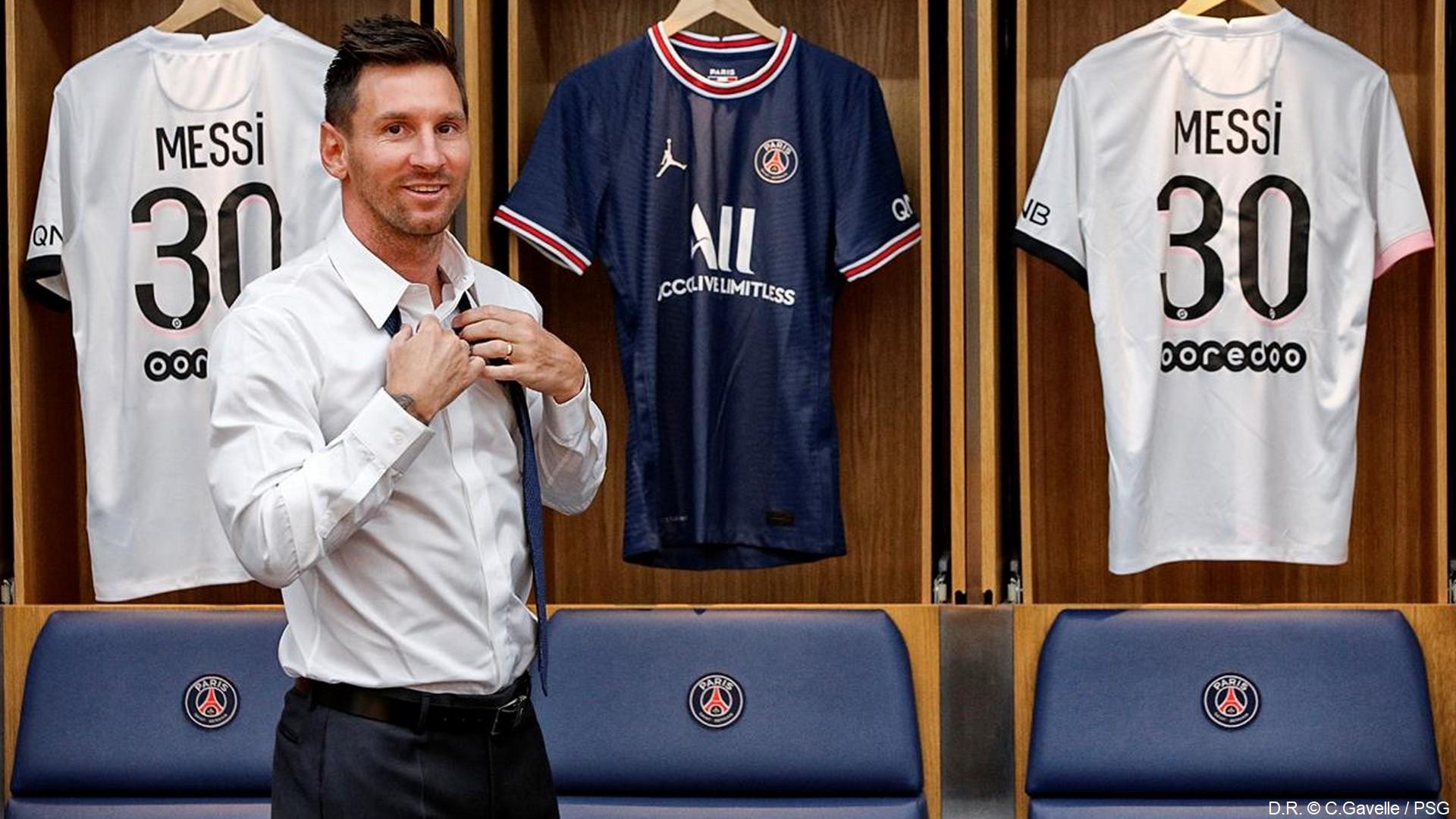 Leo Messi – PSG (aout 2021) (2) (c)