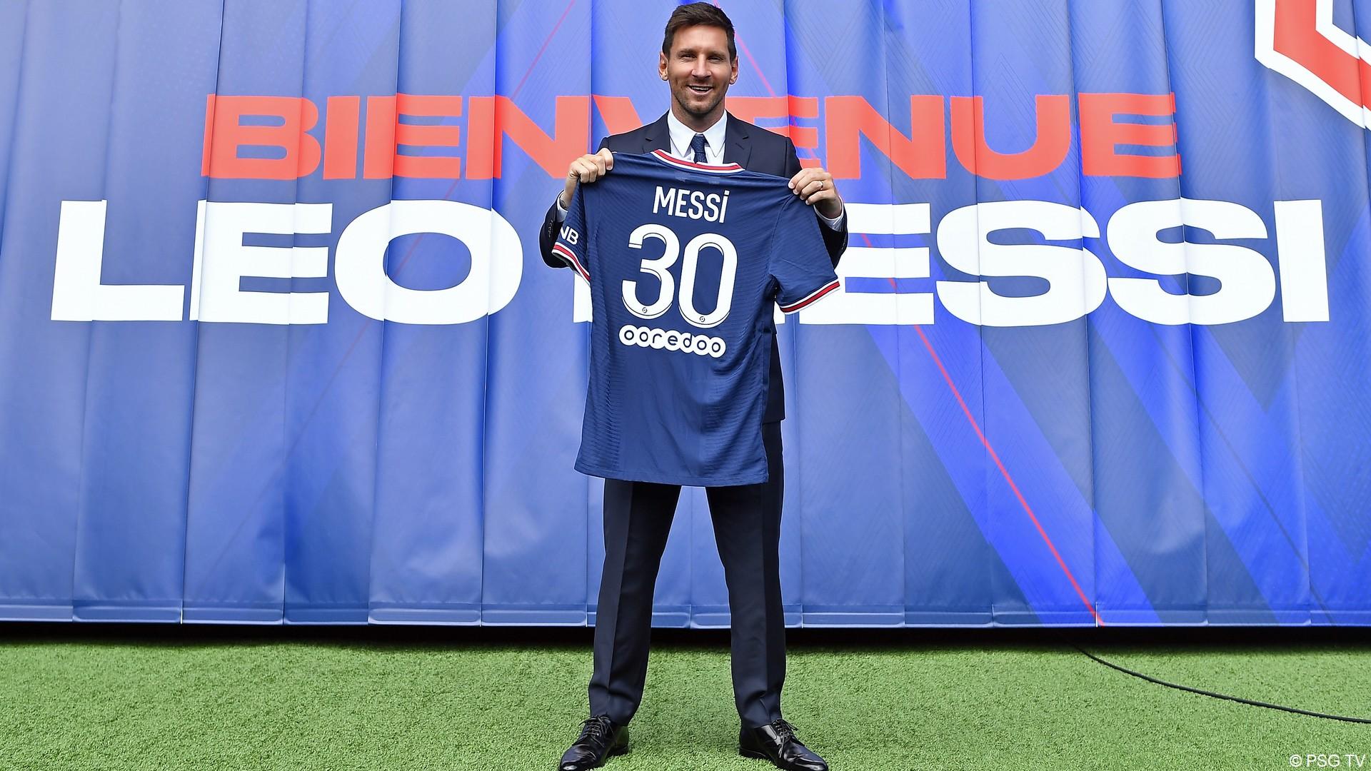 Leo Messi – PSG (aout 2021) (4) (c) PSG