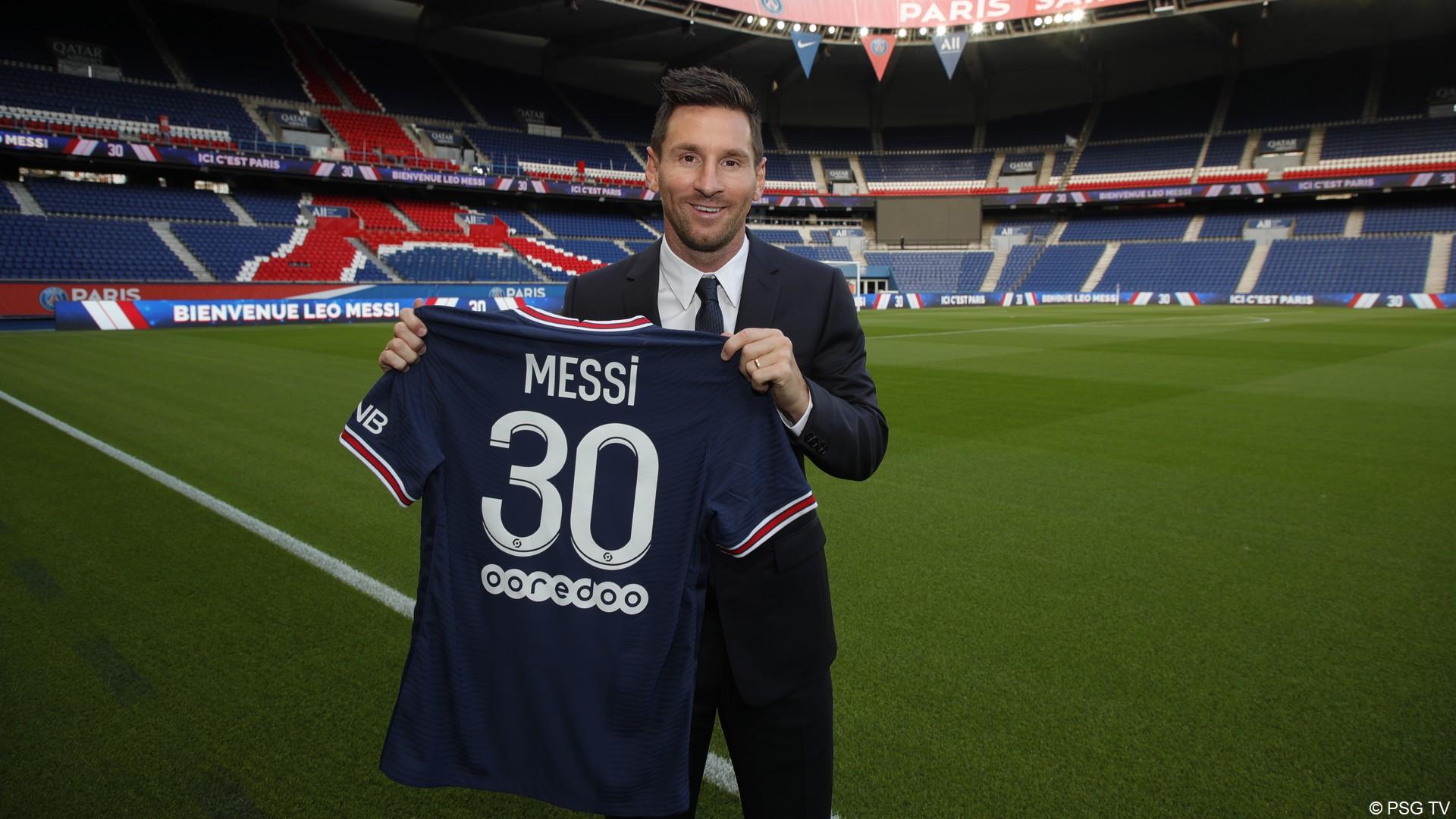 Leo Messi – PSG (aout 2021) (5) (c) PSG