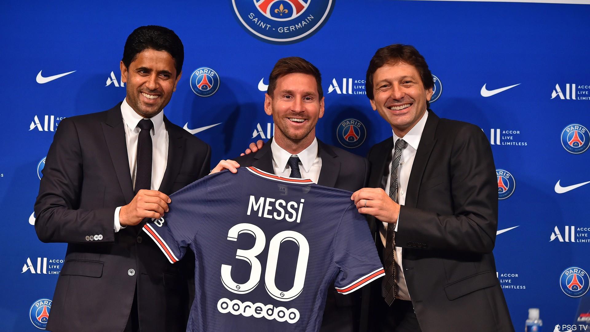 Leo Messi – PSG (aout 2021) (6) (c) PSG