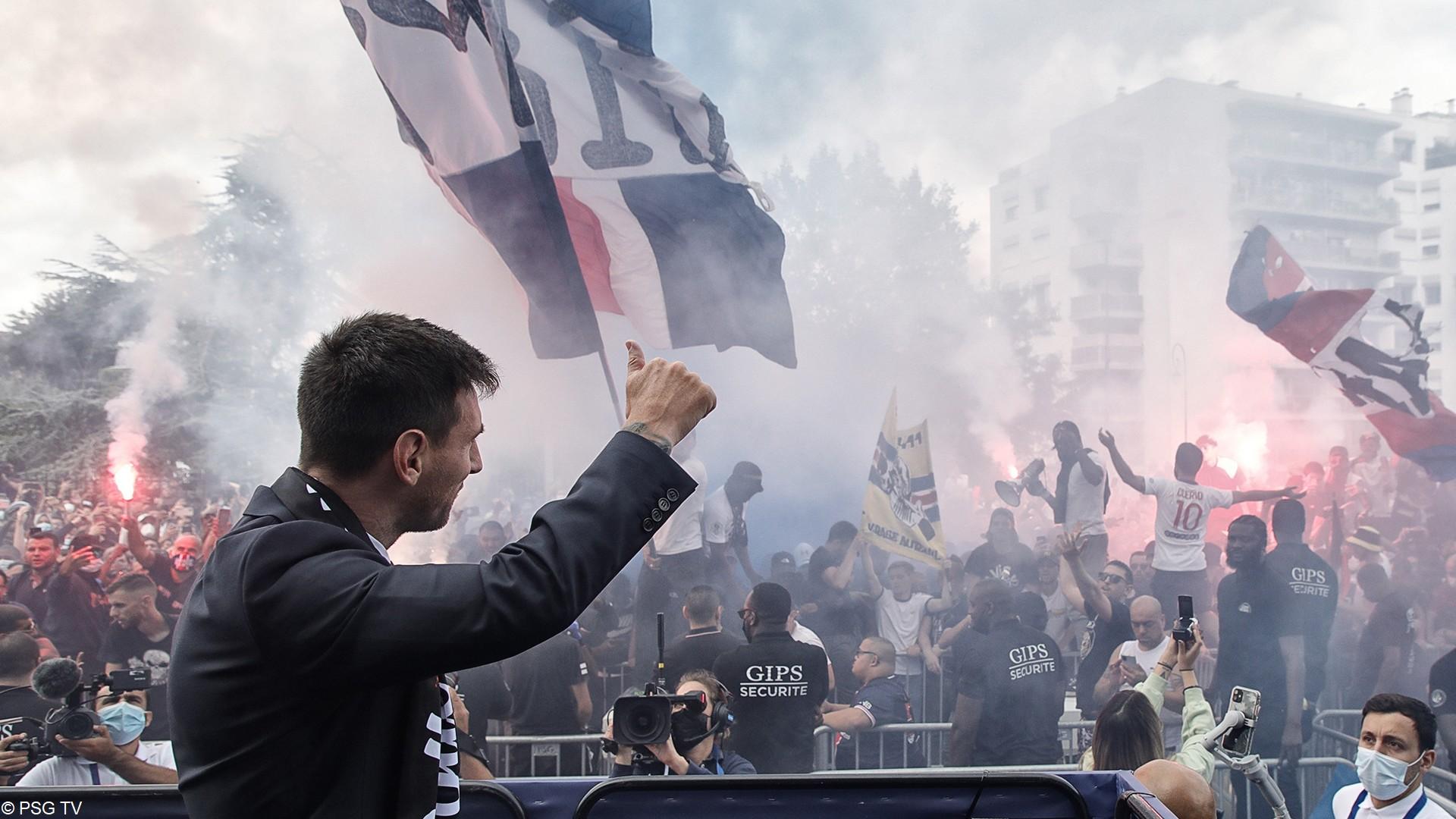 Leo Messi – PSG (aout 2021) (8) (c) PSG