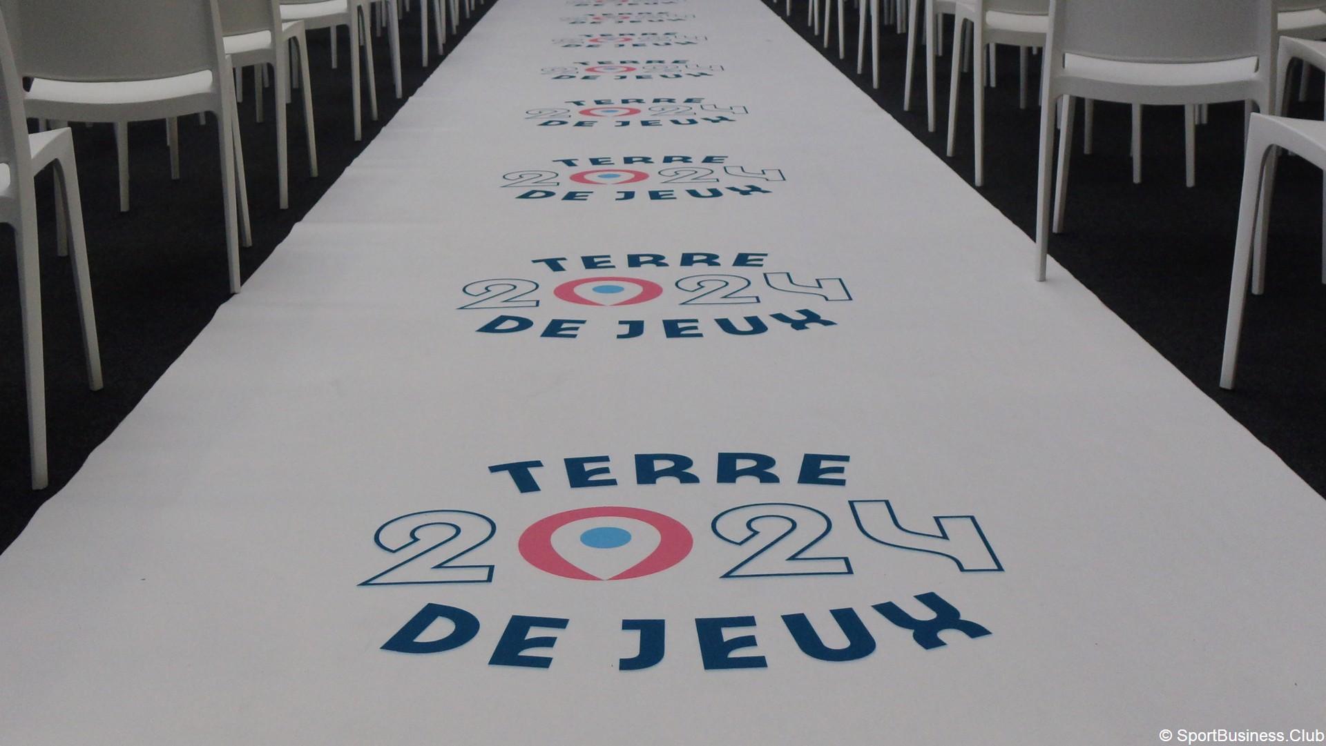 Paris 2024 – Terre de Jeux (1) Logo