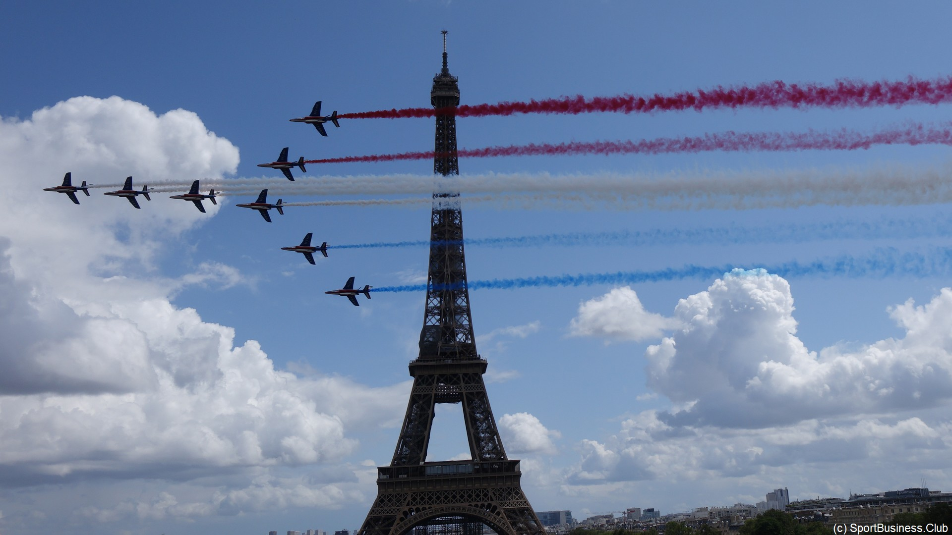 Paris 2024 – Tour Eiffel