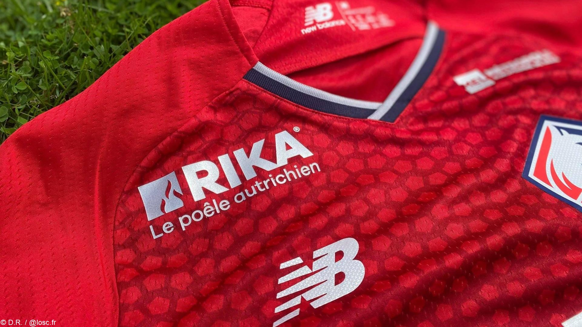 Rika x Lille OSC (football) 2021 (2) maillot