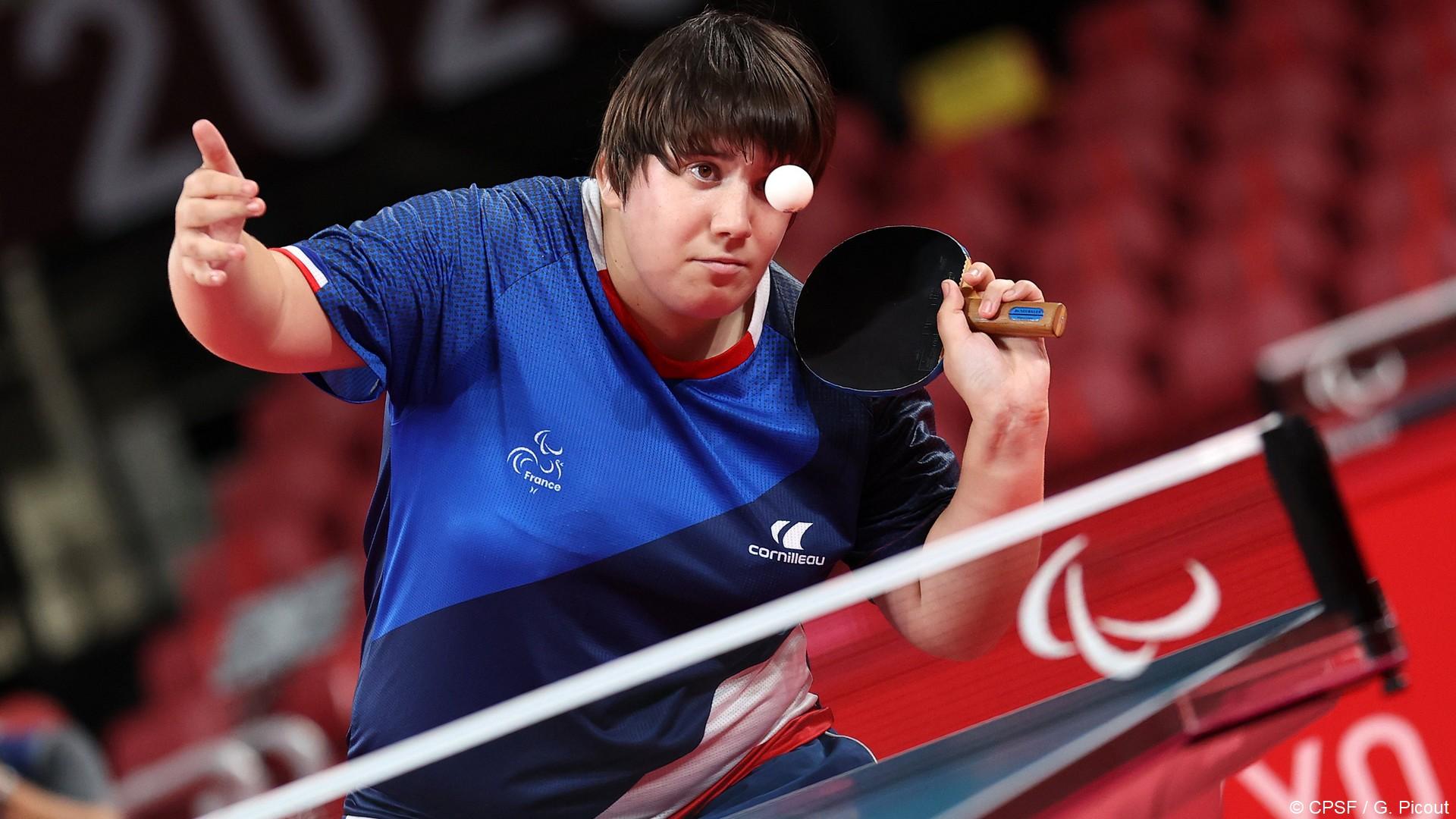 Tokyo 2020 – Paralympiques (12) Léa Ferney