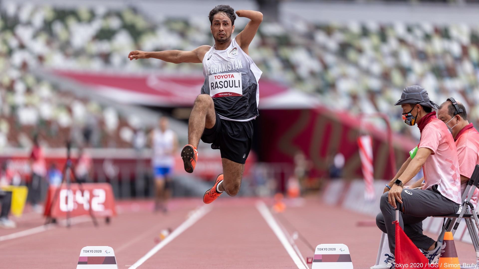 Tokyo 2020 – Paralympiques (13) Hossein Rasouli Afghanistan