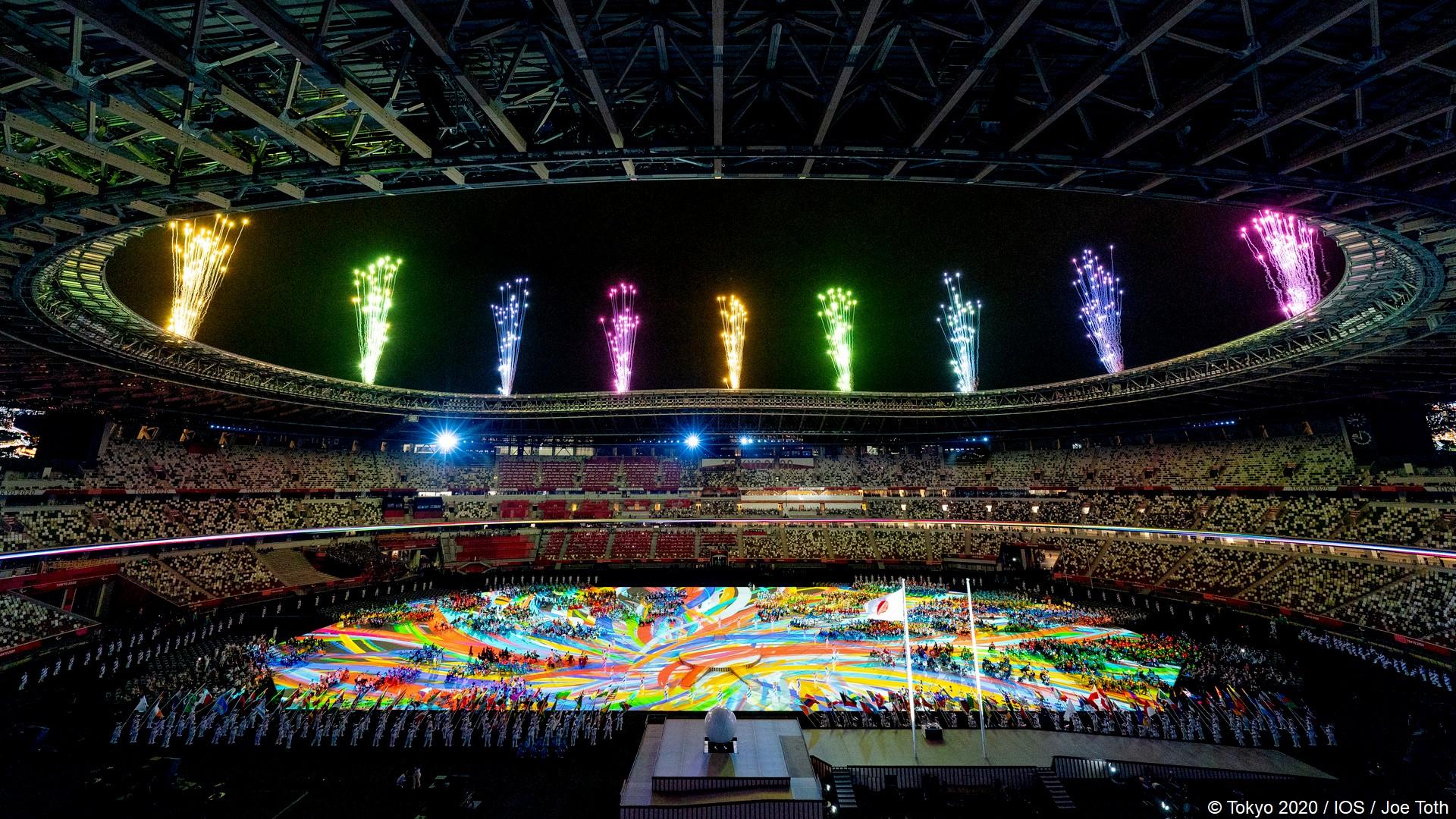 Tokyo 2020 – Paralympiques (7) Ceremonie ouverture