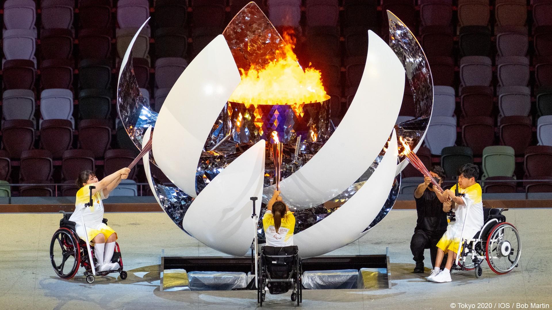 Tokyo 2020 – Paralympiques (8) Ceremonie ouverture