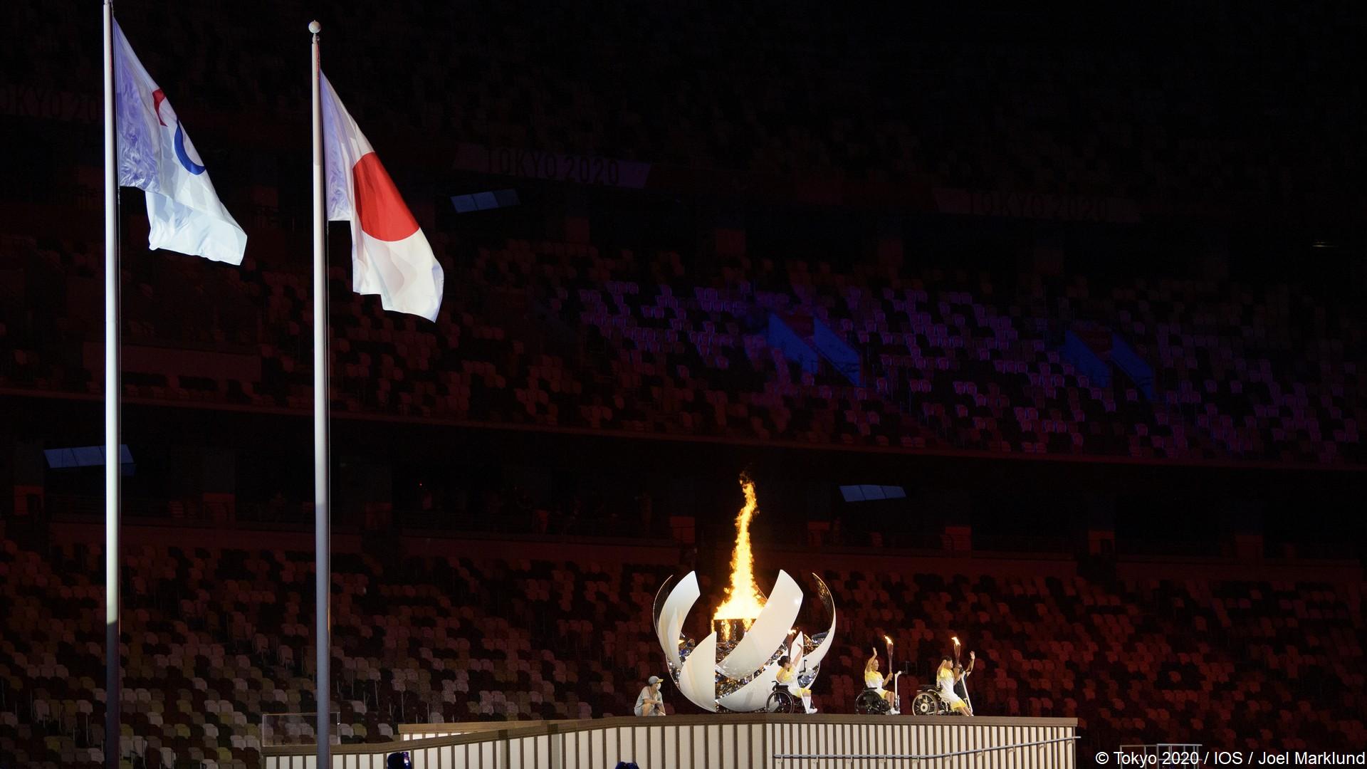 Tokyo 2020 – Paralympiques (9) Ceremonie ouverture