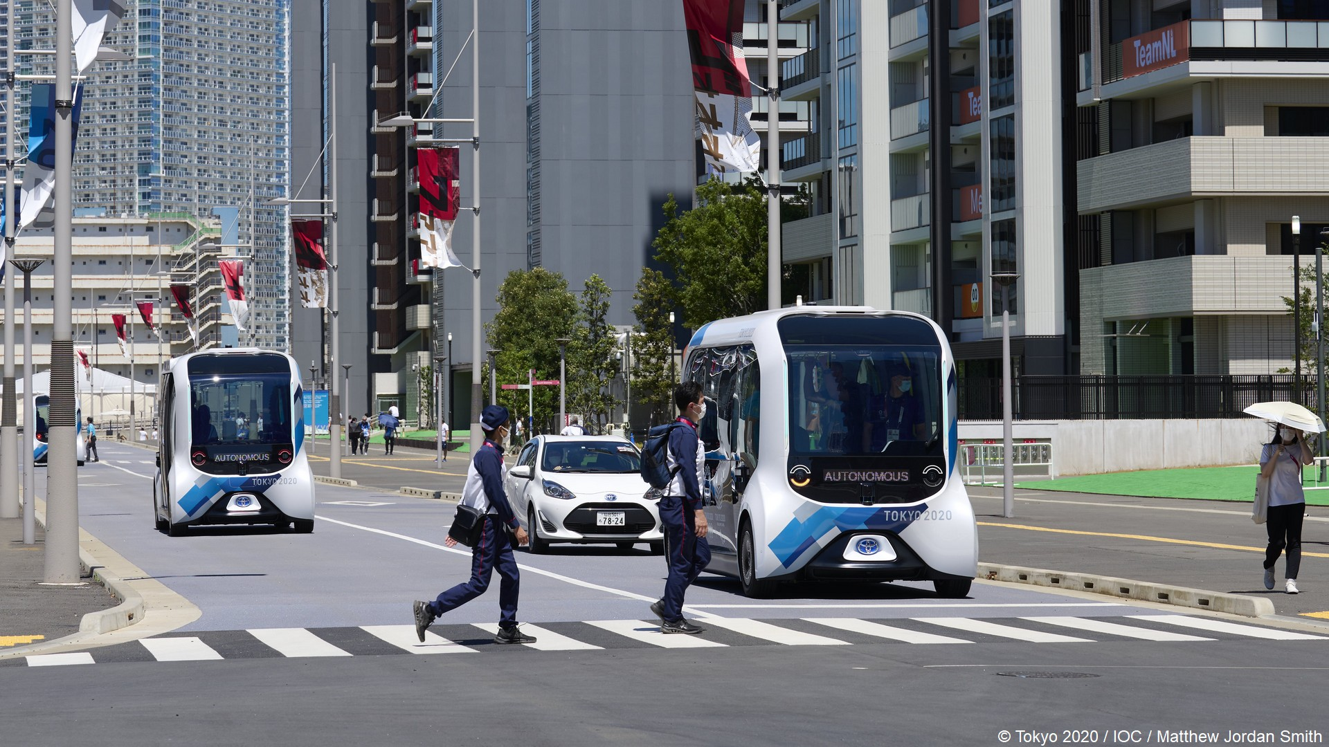 Tokyo 2020 – Village athlétes Toyota