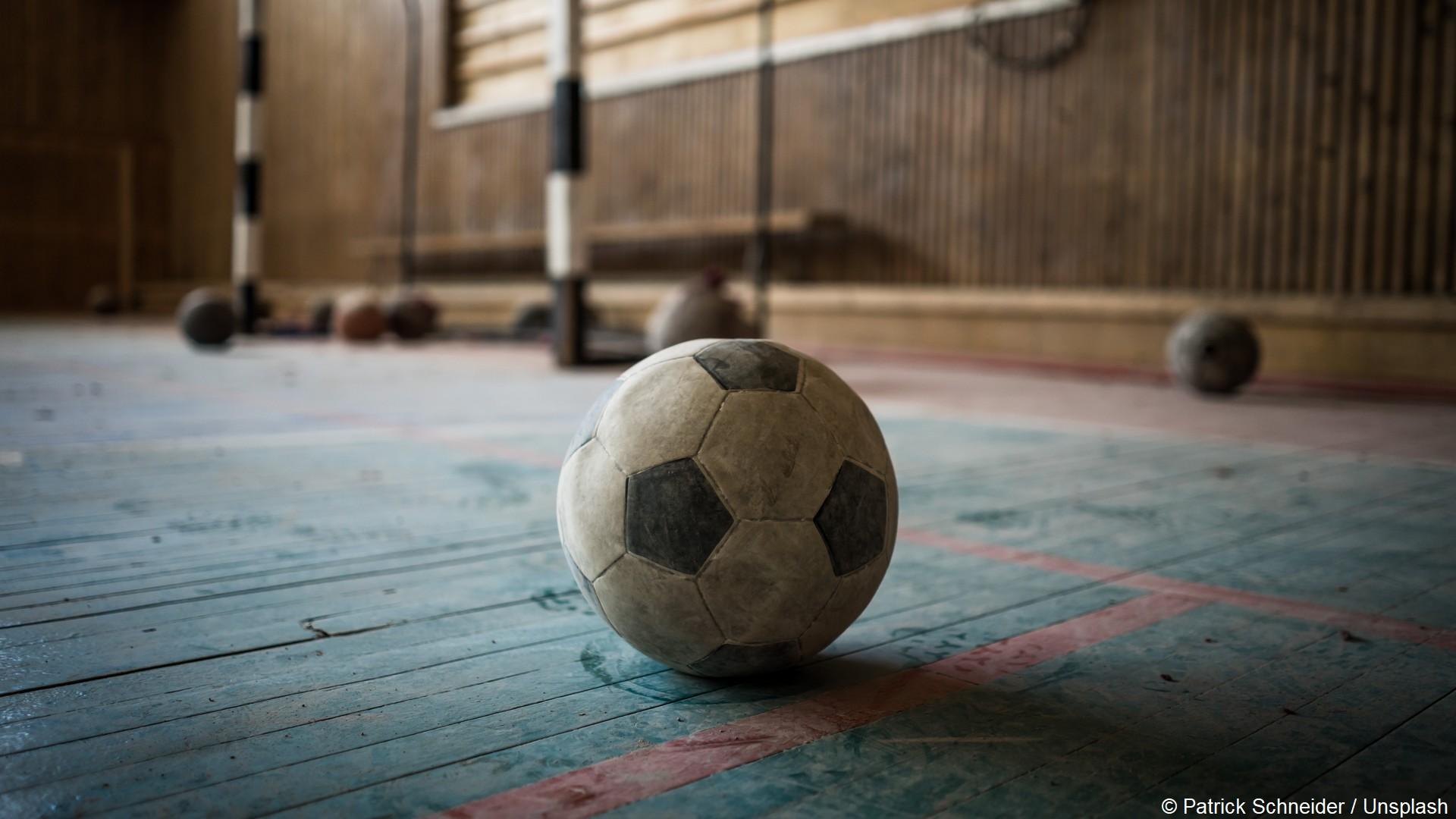 Ballons salle sport école