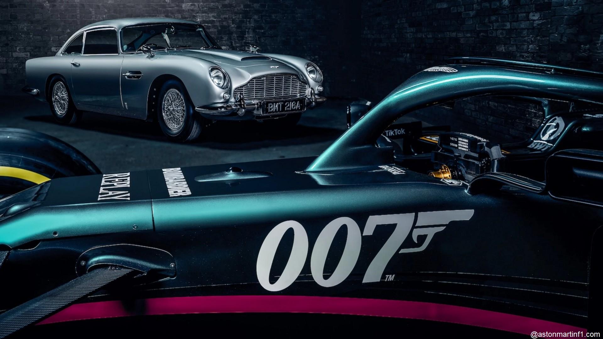 F1 Aston Martin James Bond 007