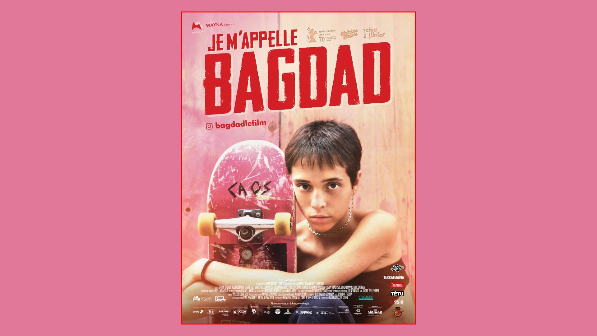 Film – Je m'appelle Bagdad (2021) Affiche