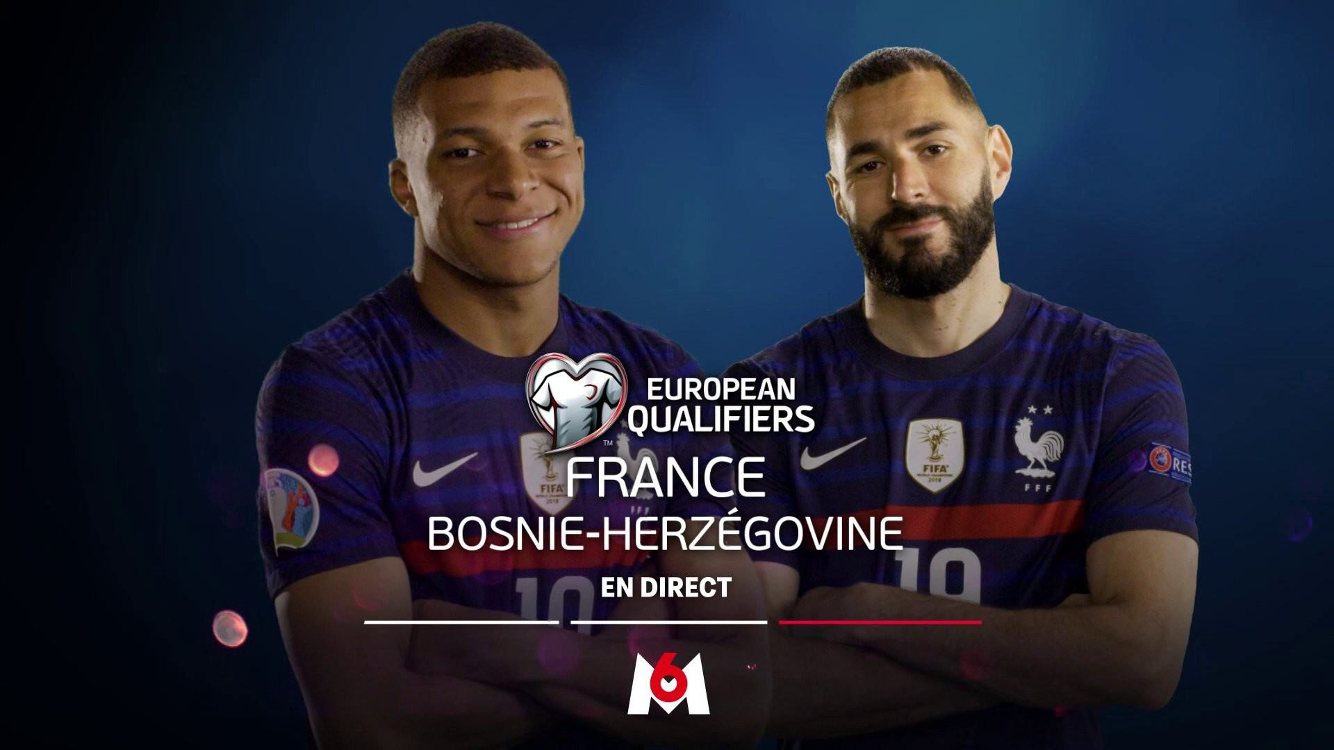 Football – France Bosnie – M6