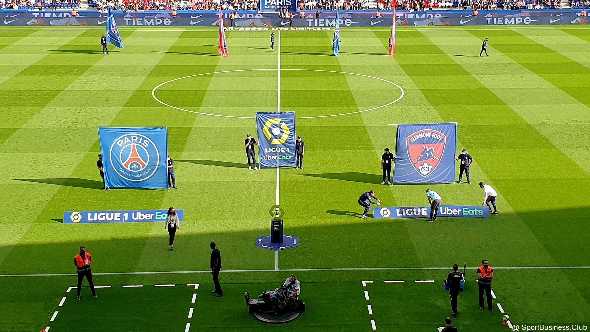 Football – PSG Clermont