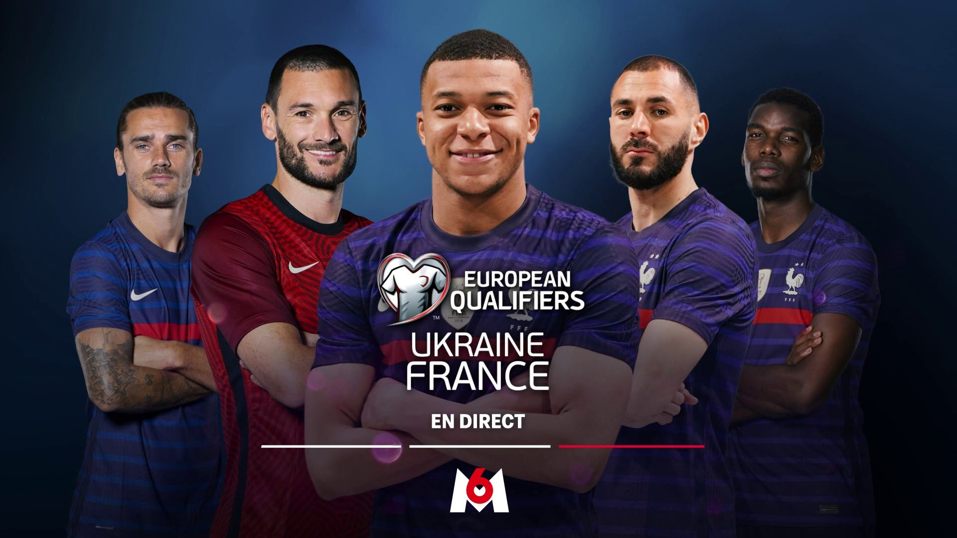 Football – Ukraine France – M6