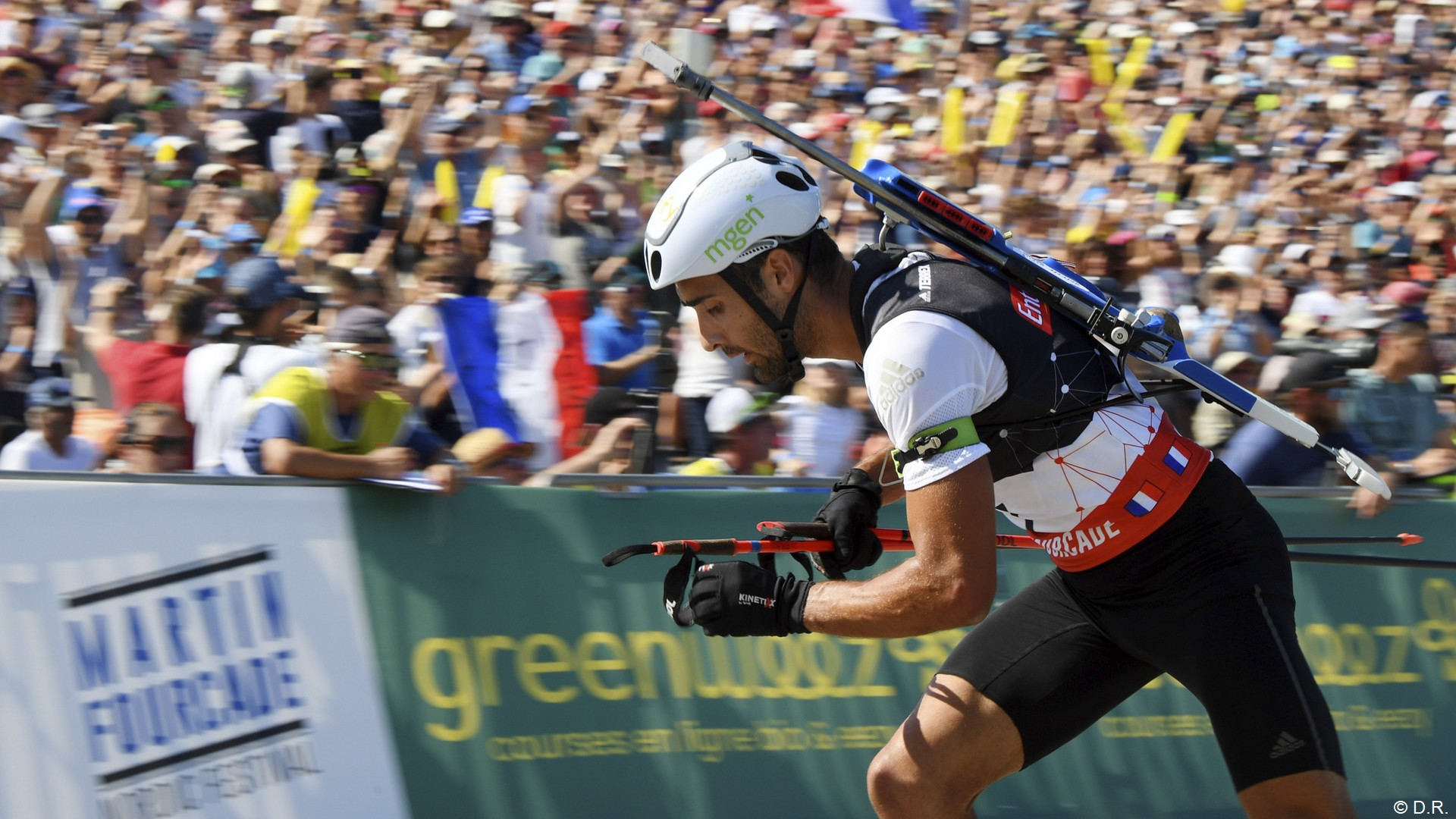 Greenweez x Martin Fourcade (biathlon) 2021