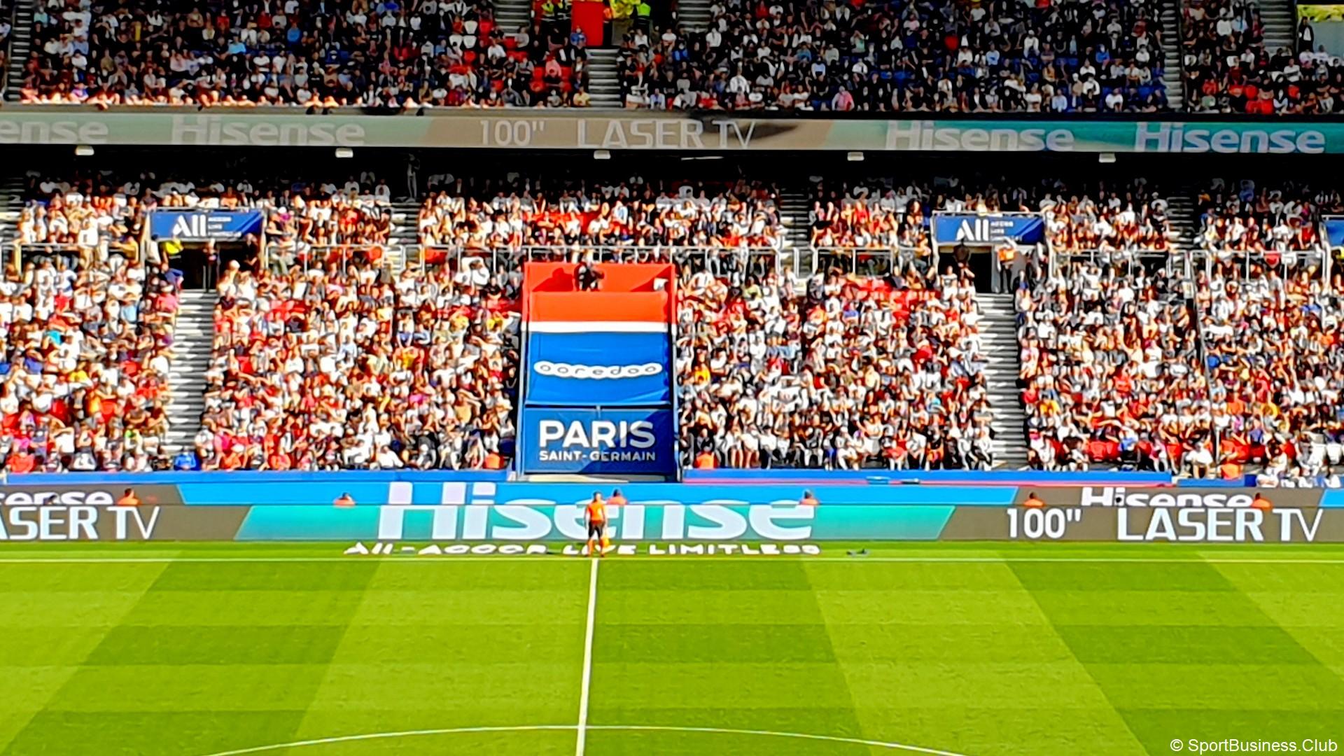 Hisense x Paris SG (football) Pub Leb
