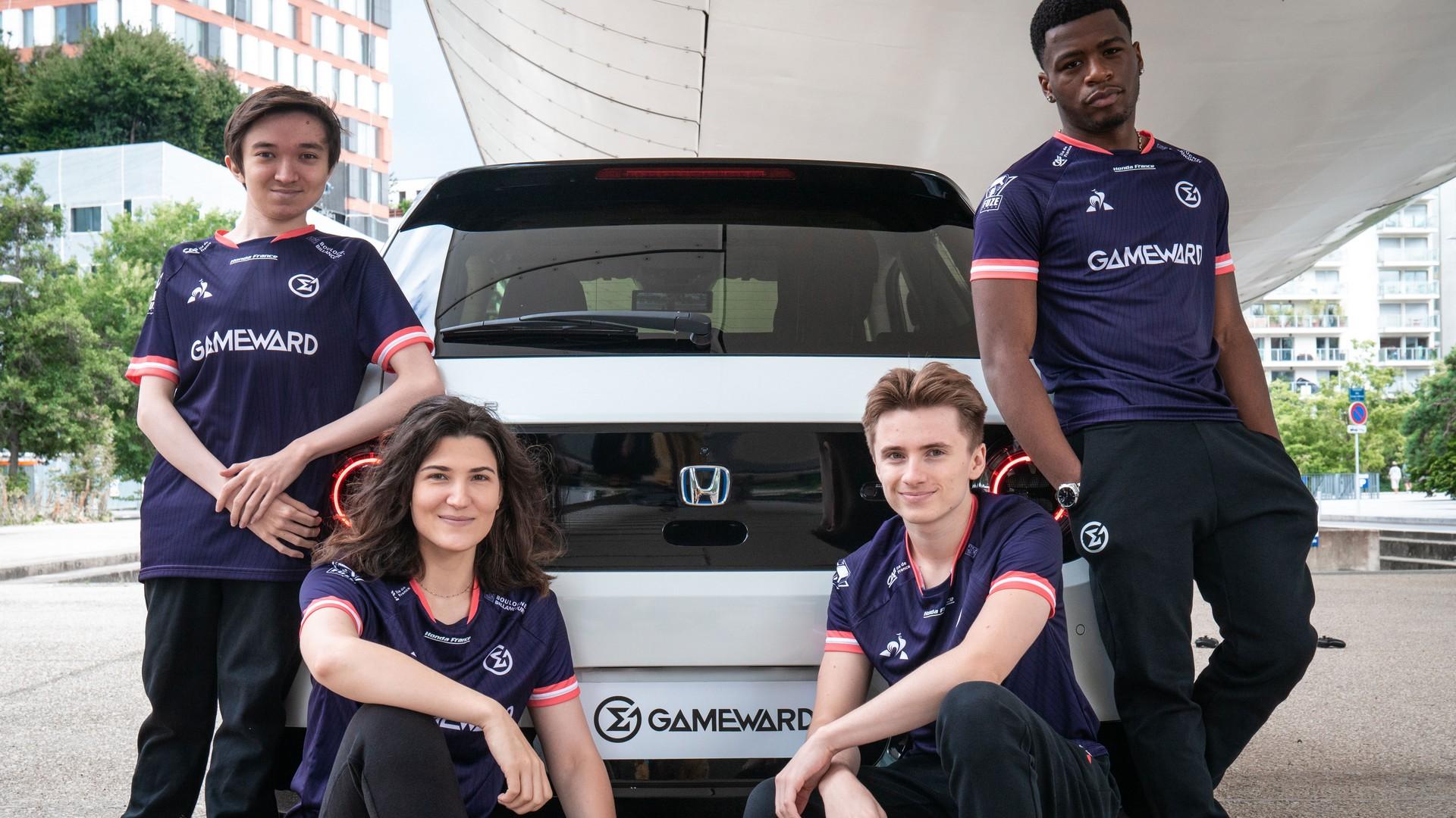 Honda x Gameward (esport) 2021