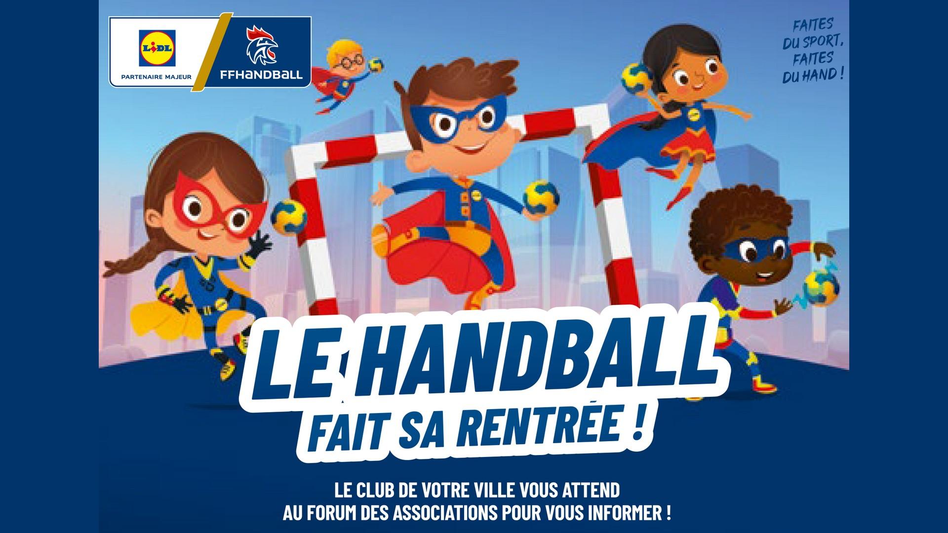Lidl x Handball campagne clubs 2021
