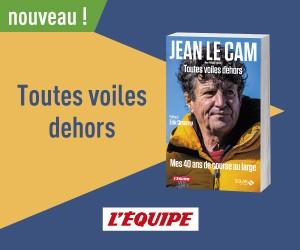 Livres – Solar – Jean Le Cam Toutes Voiles dehors 300 x 250
