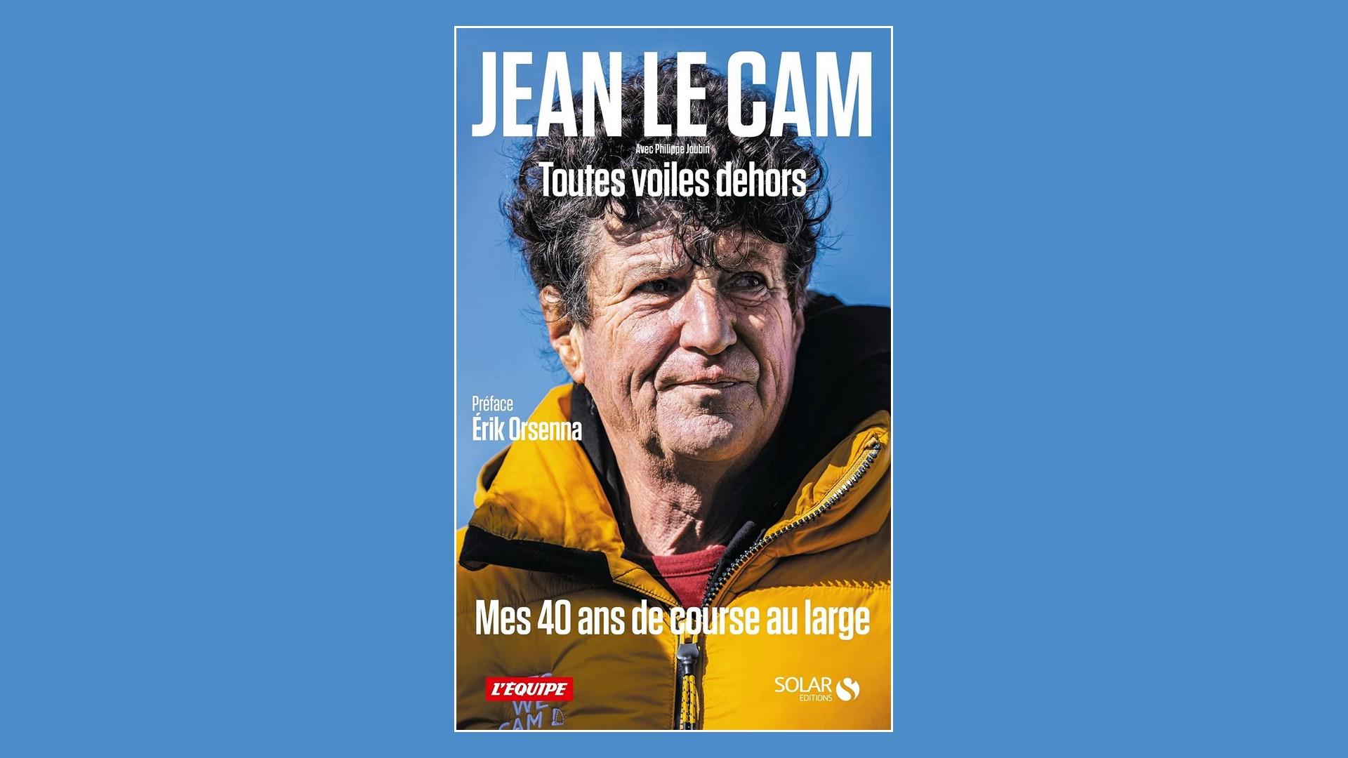 Livres – Toutes voiles dehors – Jean Le Cam (2021)