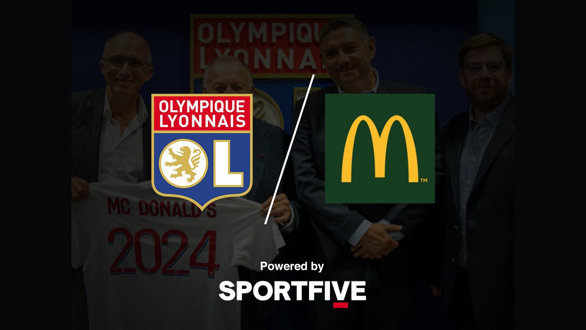 McDonalds x Olympique Lyonnais (football) 2021