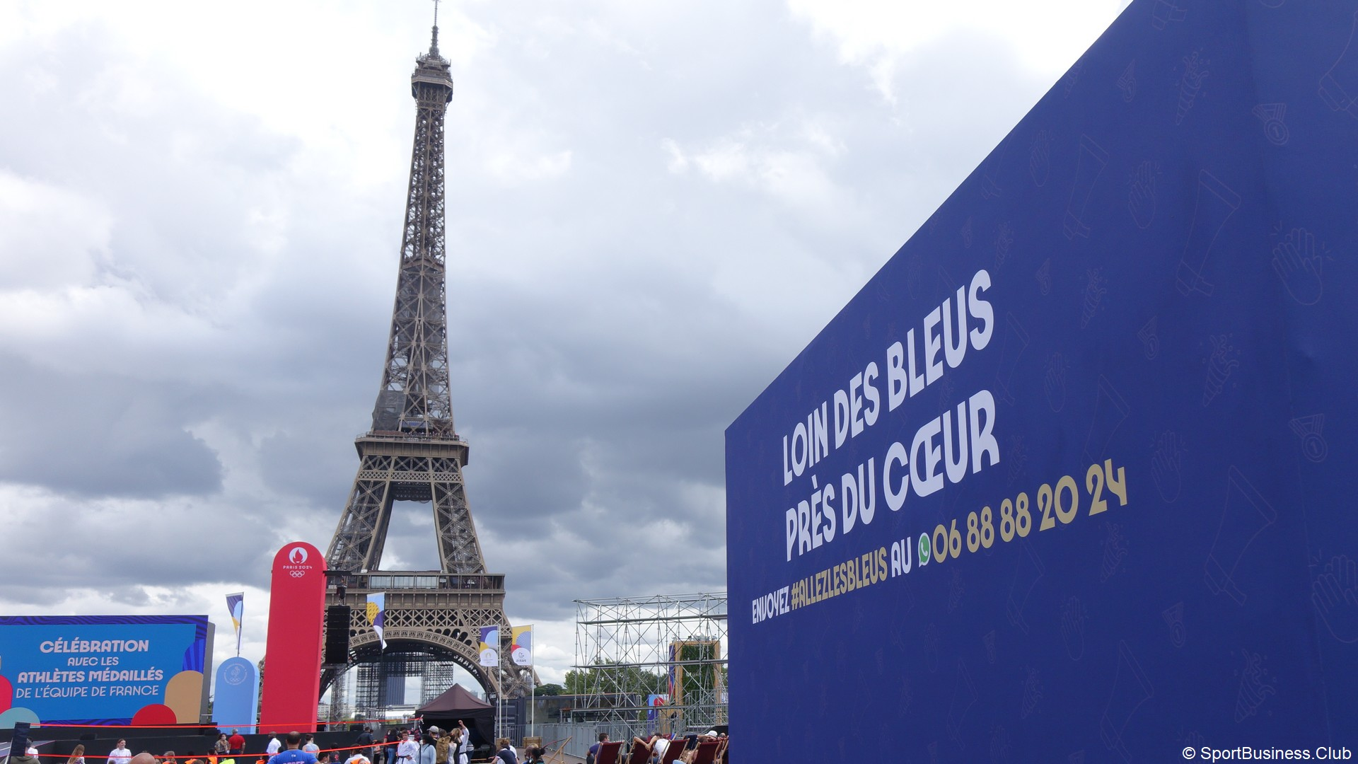 Paris 2024 – Tour Eiffel Trocadéro Live des jeux 2021