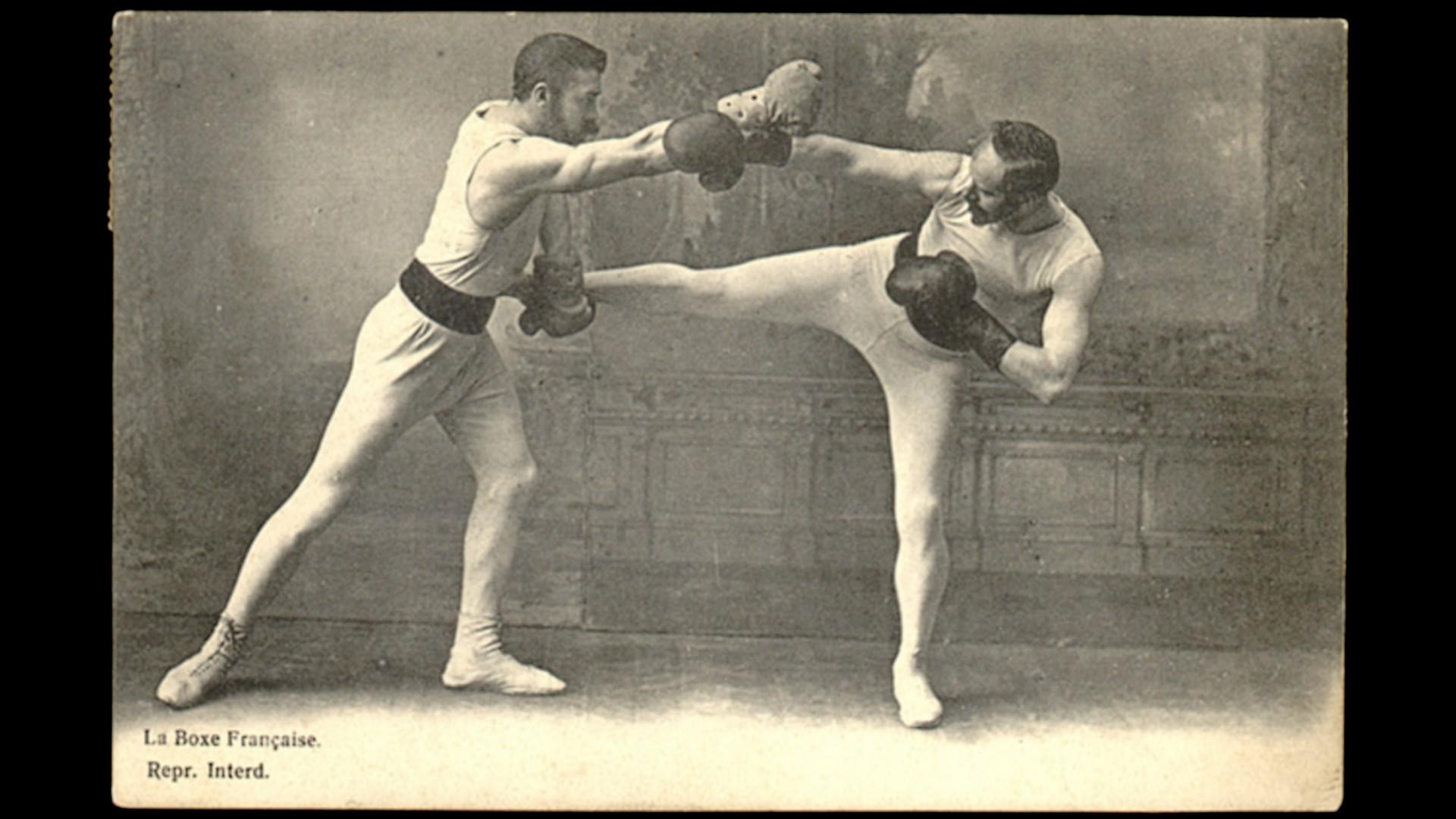 Savate Boxe Française 1900