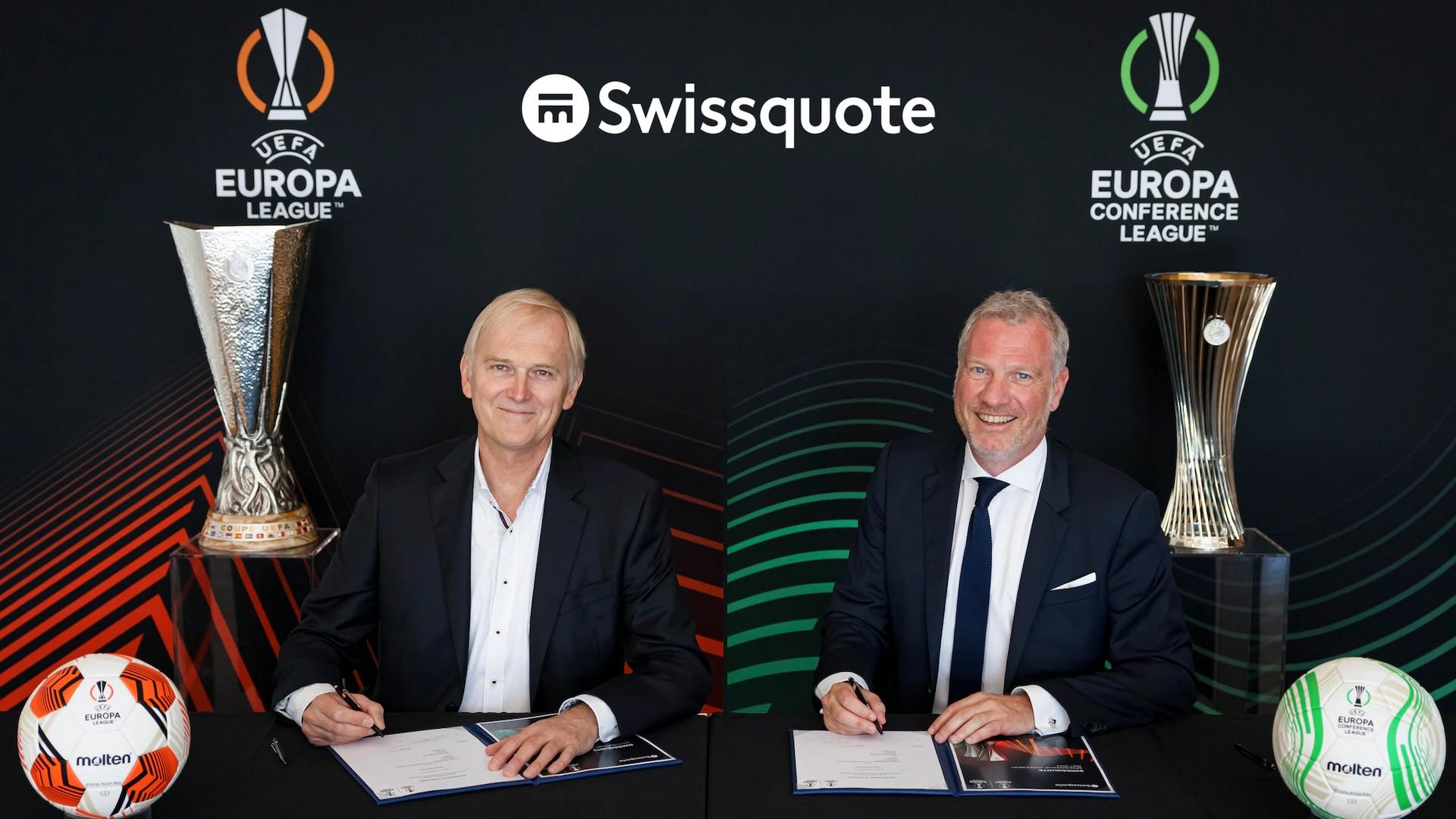Swissquopte x UEFA Ligue Europa (football) 2021