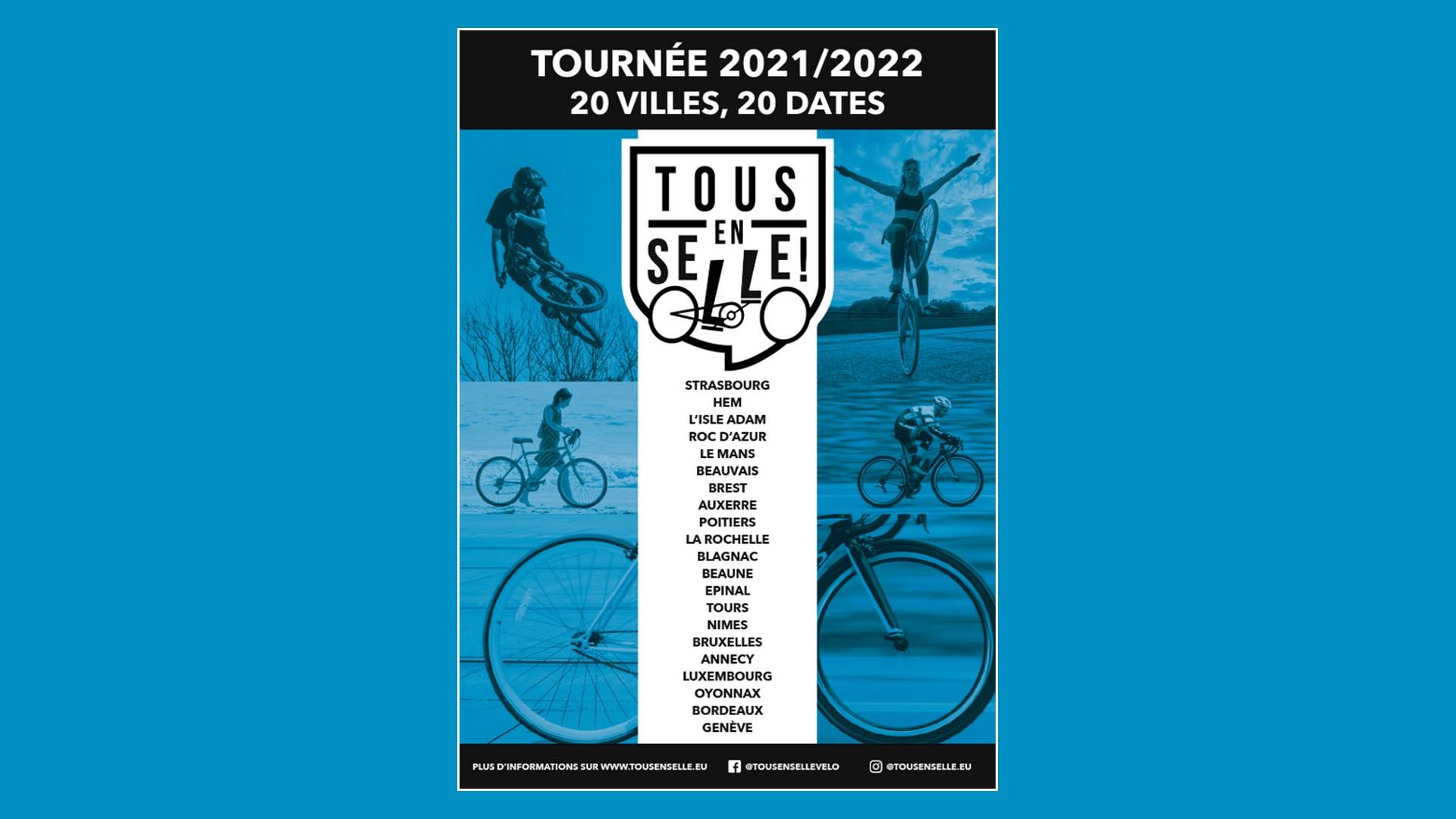 Tous en Selle Tournée 2021