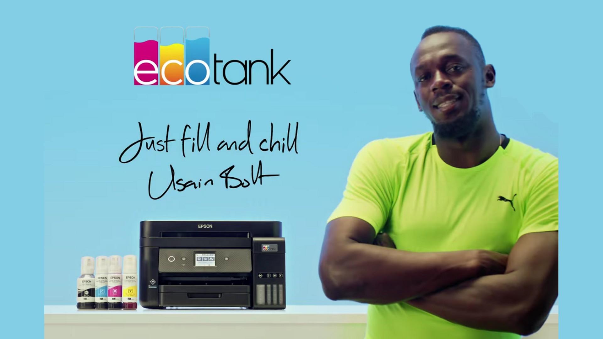 Epson x Usain Bolt (athlétisme) 2021