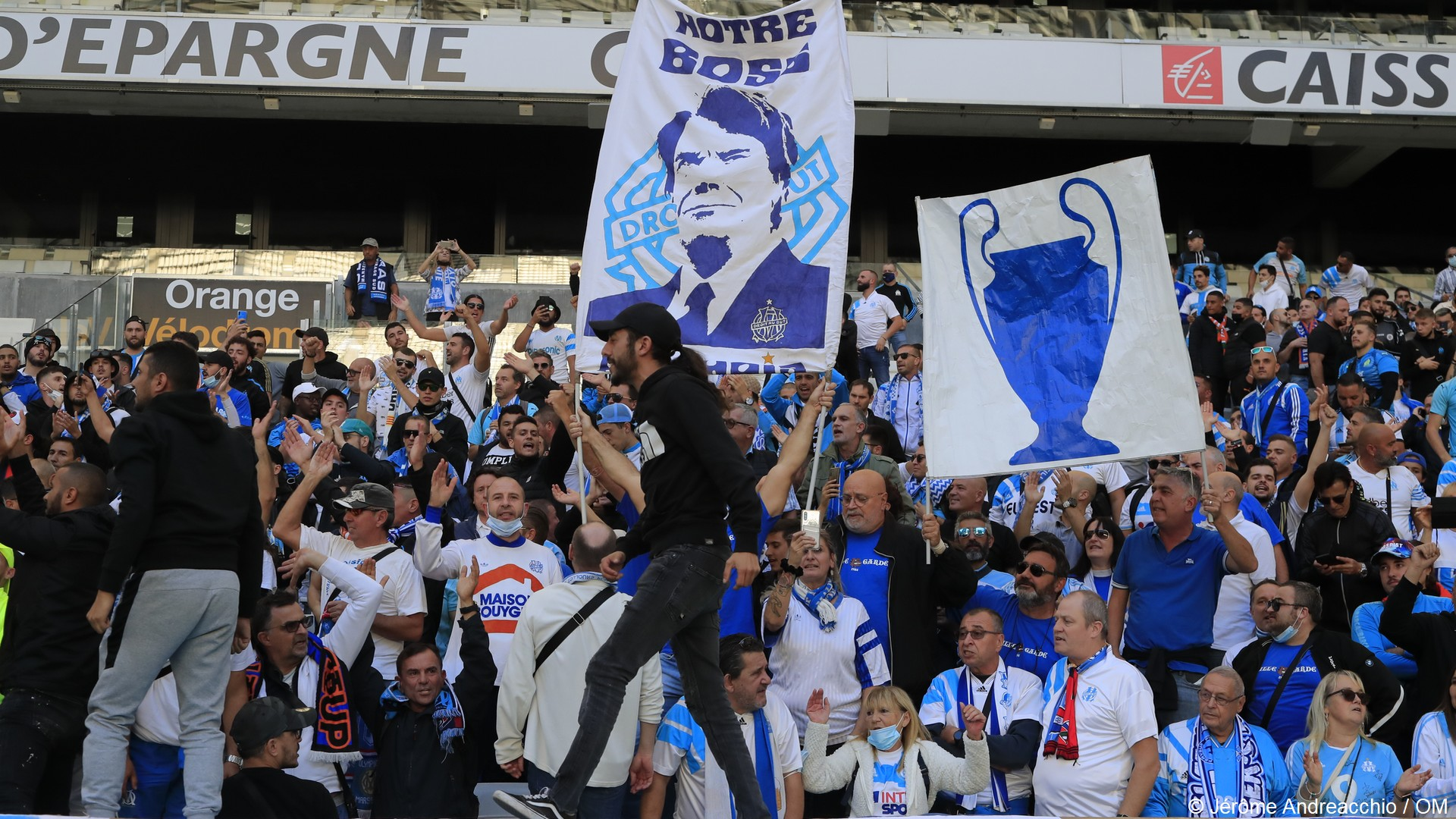 OM Marseille (3) Hommage Bernard Tapie