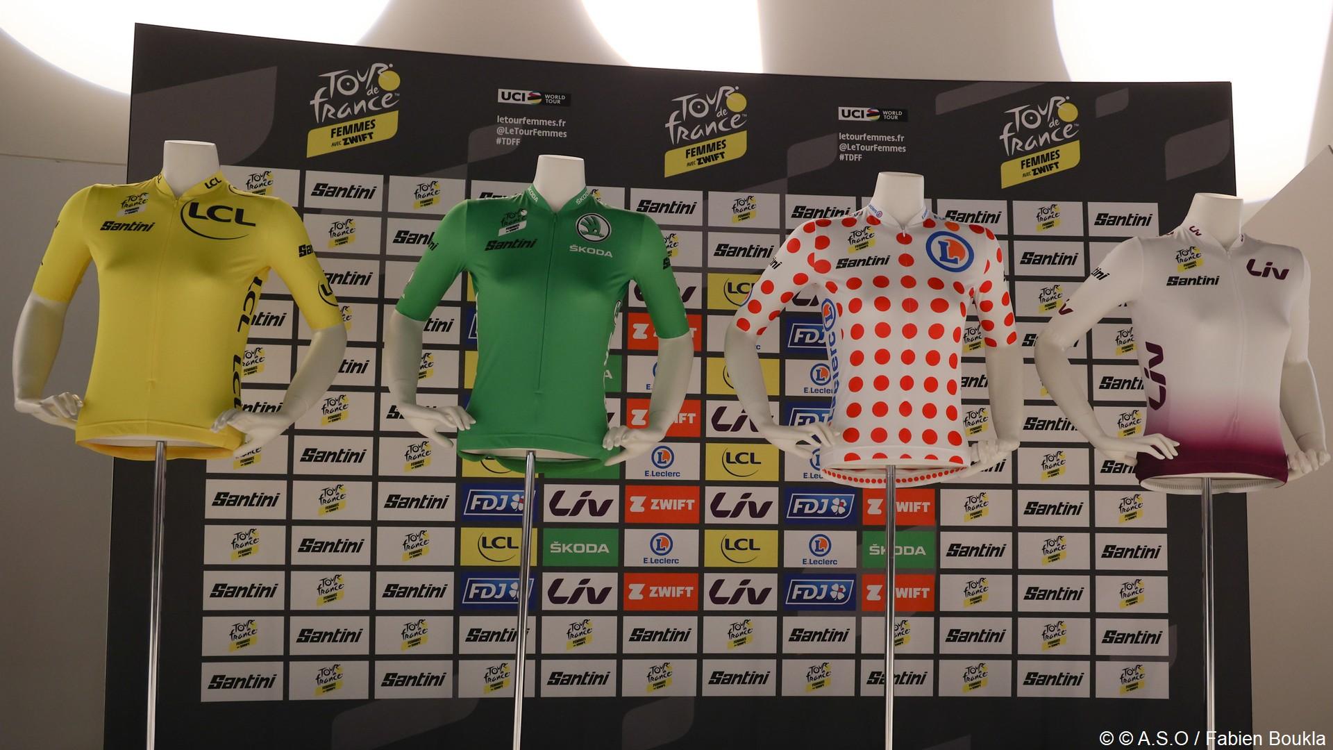 Santini (1) Maillots Tour de France Femmes 2022