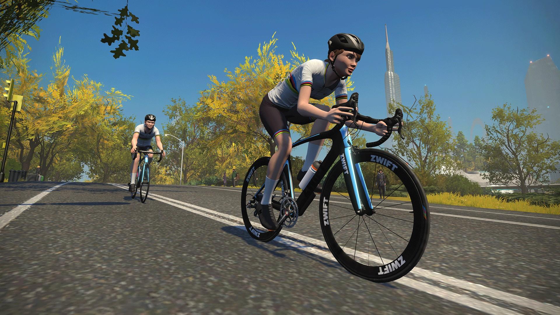 Zwift x UCI (cyclisme) 2021